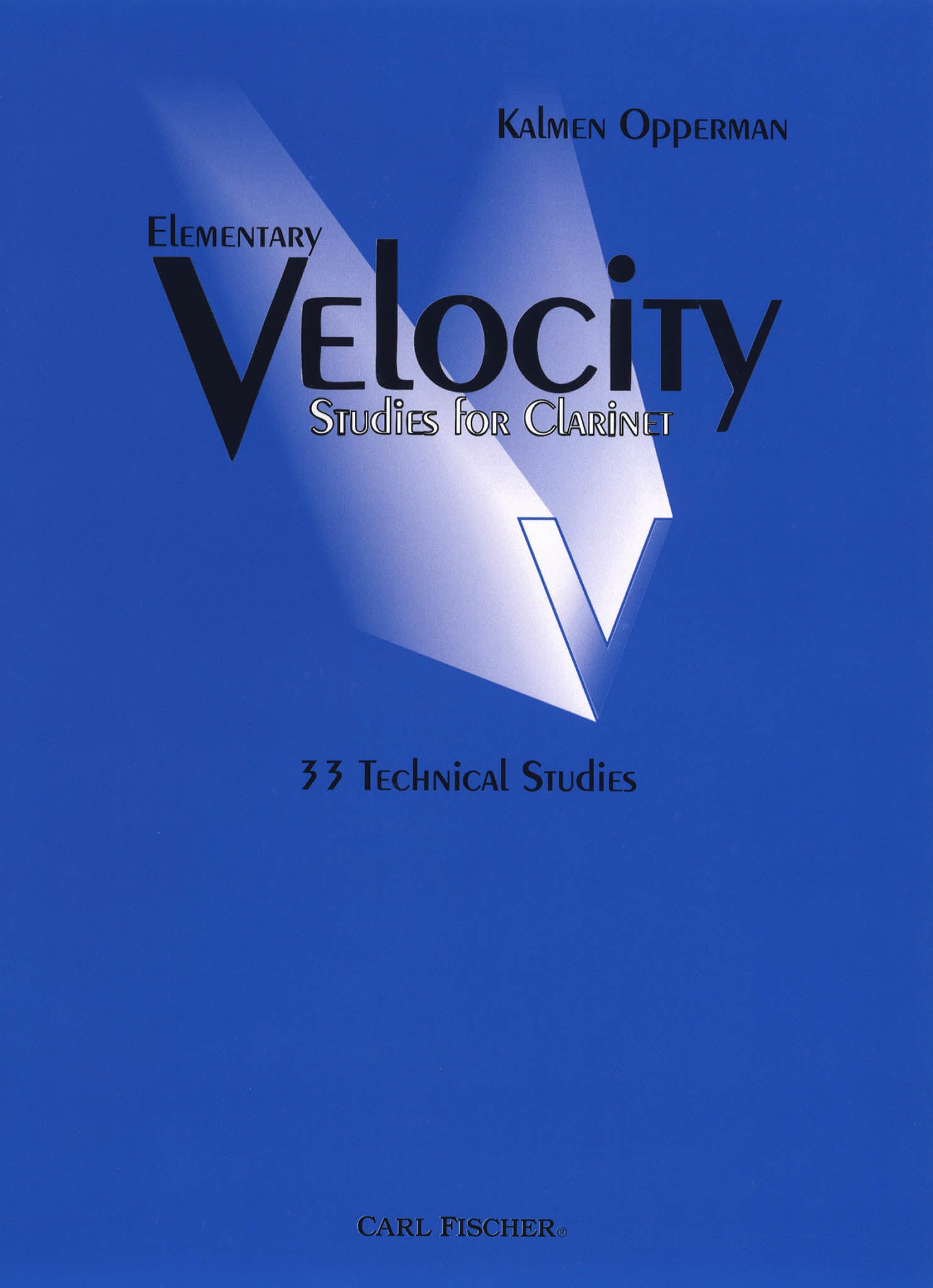 Elementary Velocity Studies for Clarinet Cover
