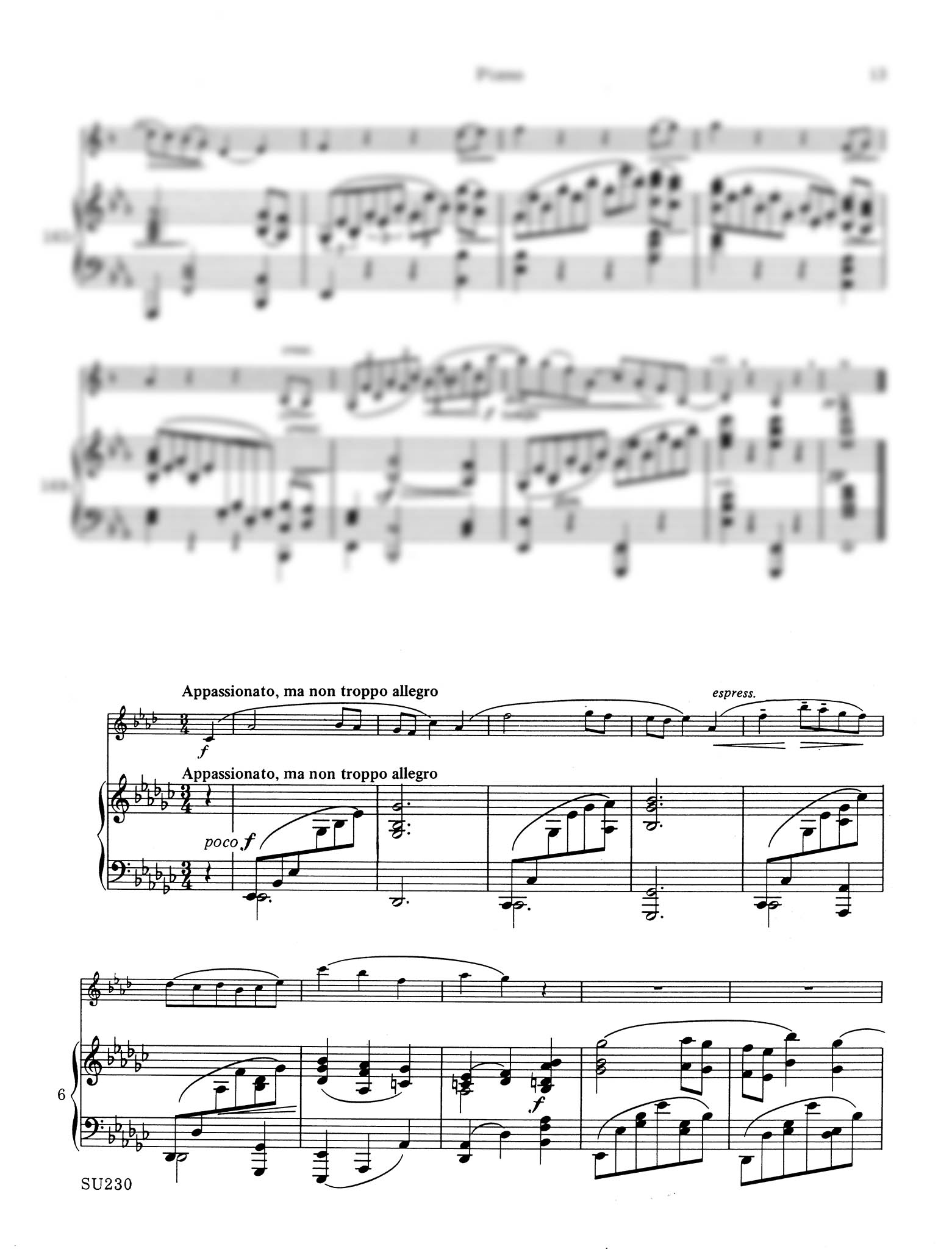 Sonata in E-flat Major, Op. 120 No. 2 - Movement 2