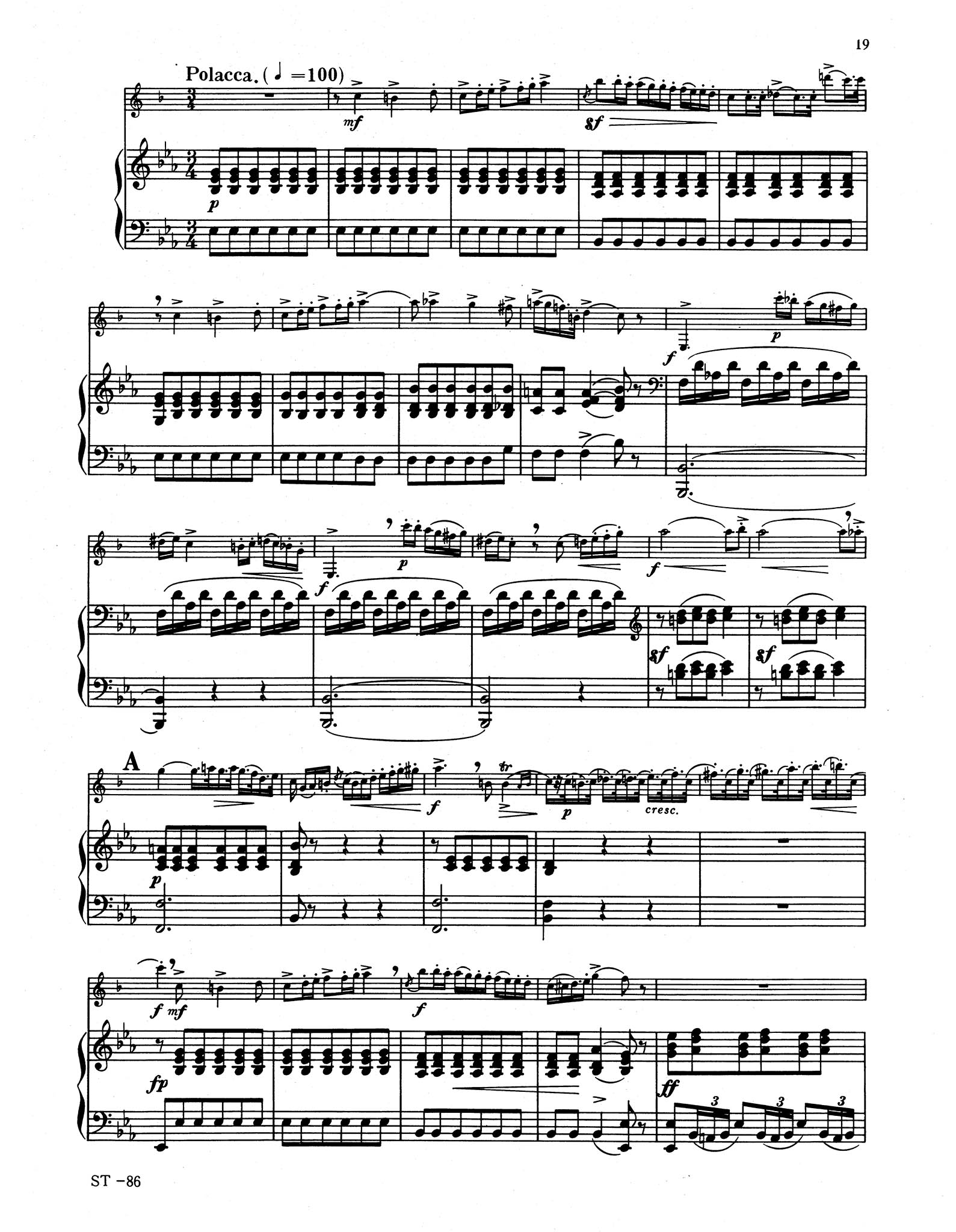 Clarinet Concerto No. 2 in E-flat Major, Op. 74 - Movement 3