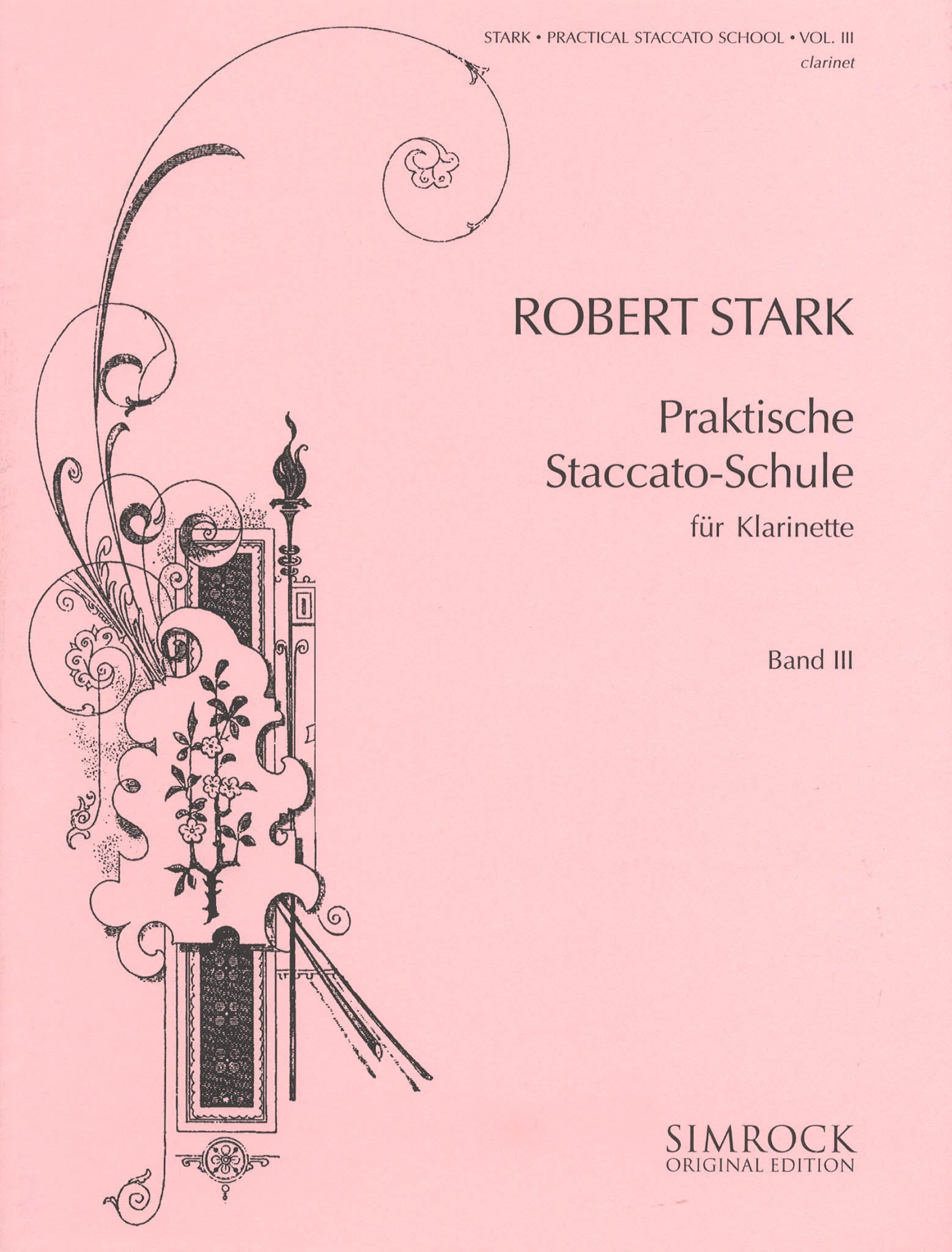 Practical Staccato School for Clarinet, Book 3 Cover