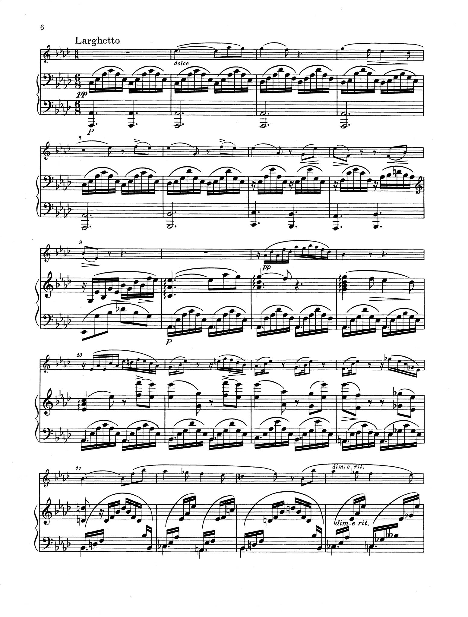 Duo in E-flat Major, Op. 15 - Movement 2