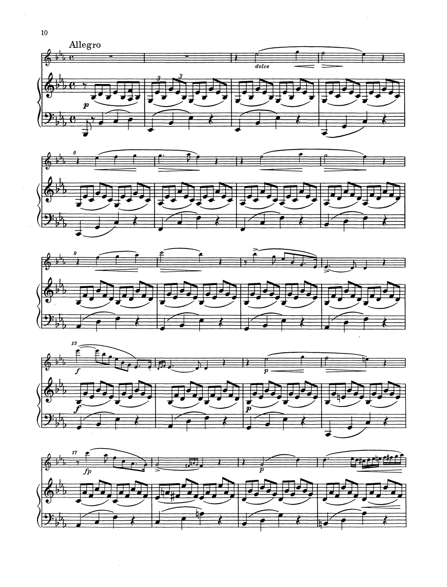 Duo in E-flat Major, Op. 15 - Movement 3