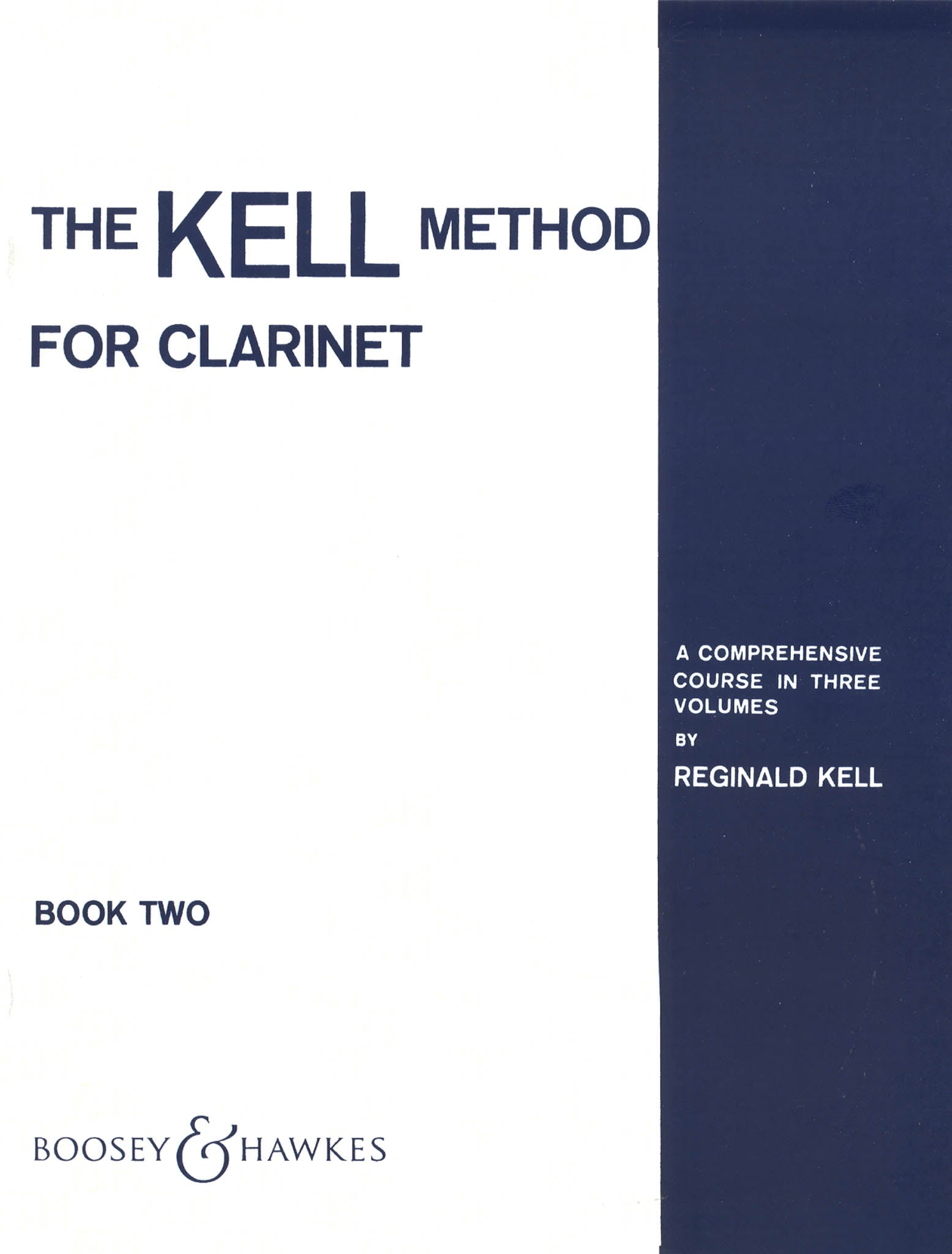 The Kell Method for Clarinet, Book 2 Cover