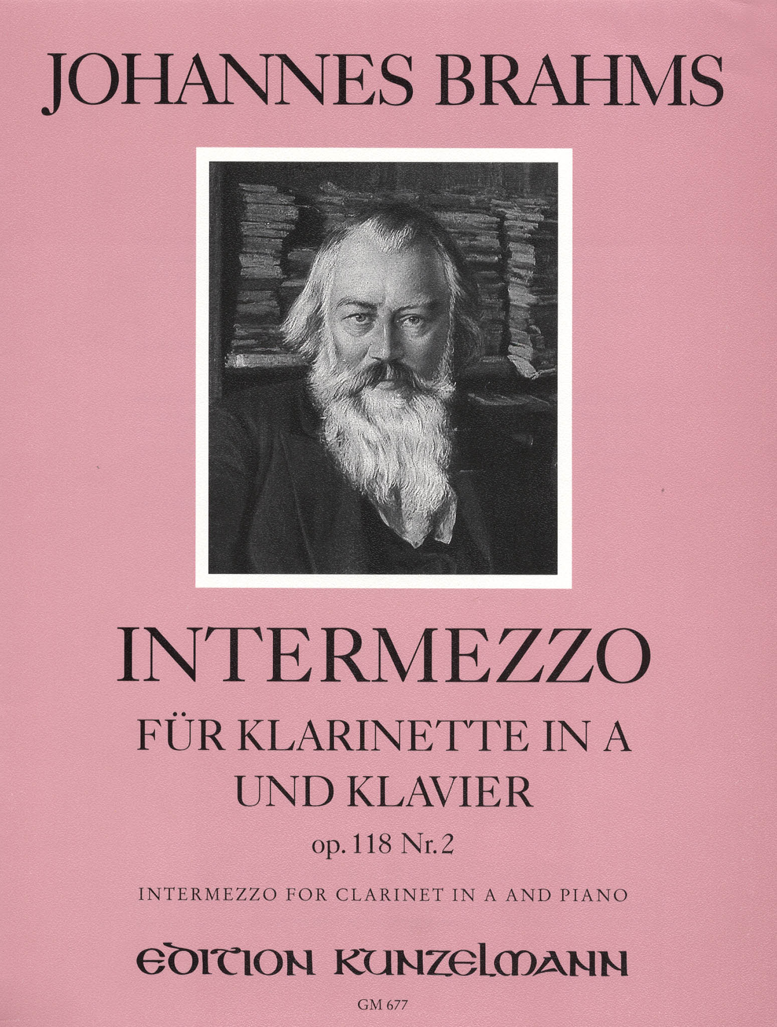 Intermezzo, Op. 118 No. 2 Cover