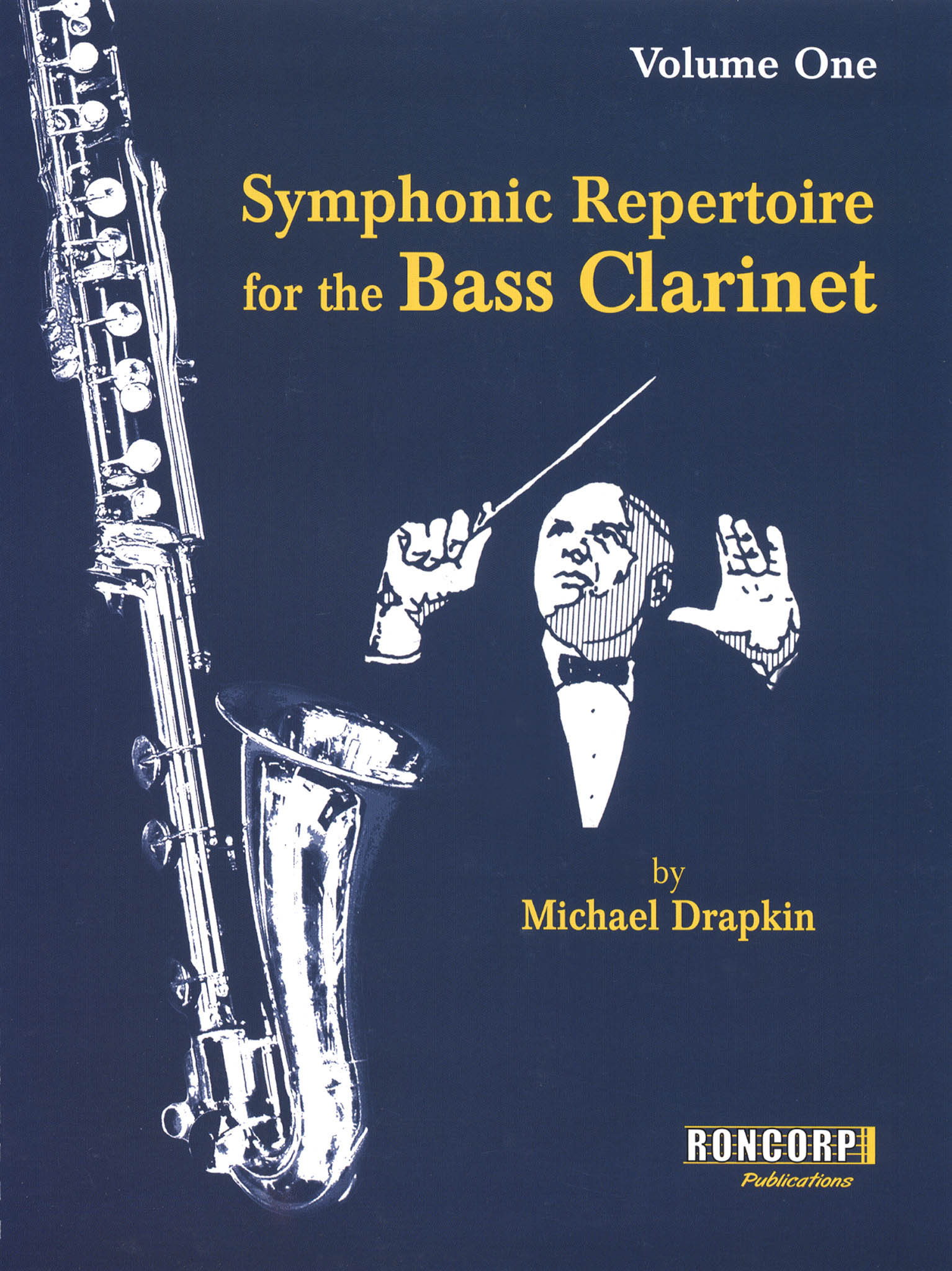 Symphonic Repertoire for the Bass Clarinet, Volume 1 Cover