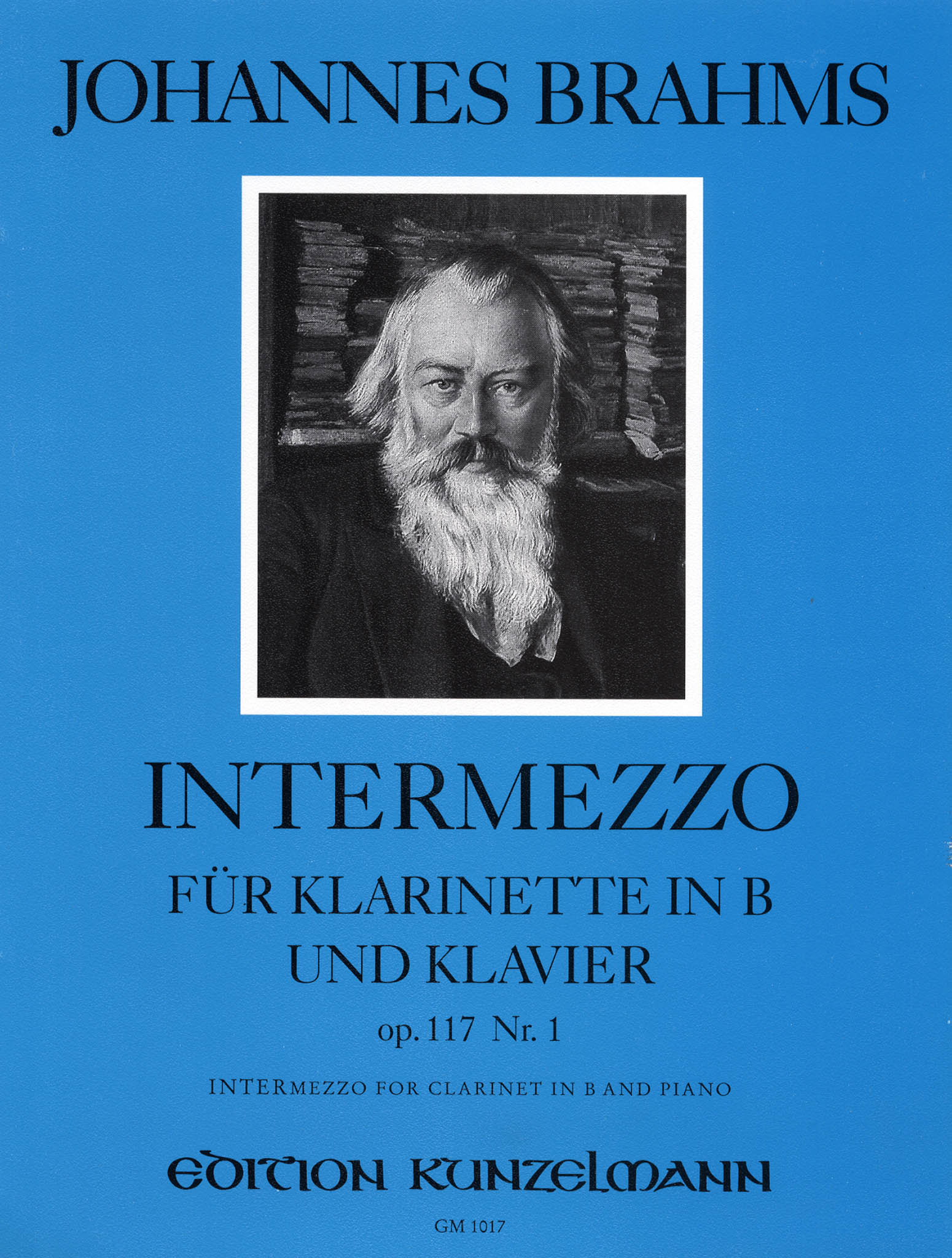Intermezzo, Op. 117 No. 1 Cover