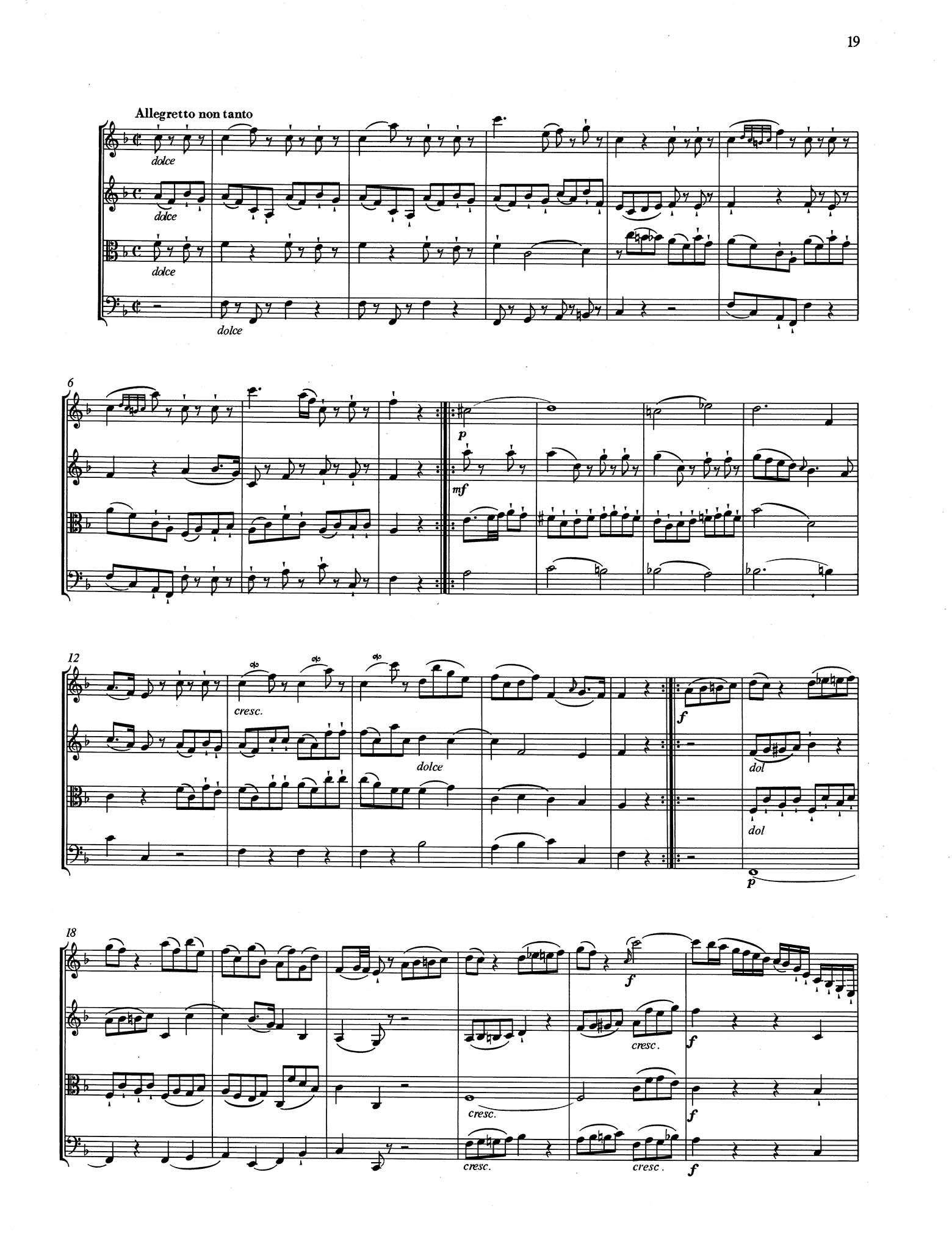 Piano Trio No. 1 in G Major, K. 496 - Movement 3