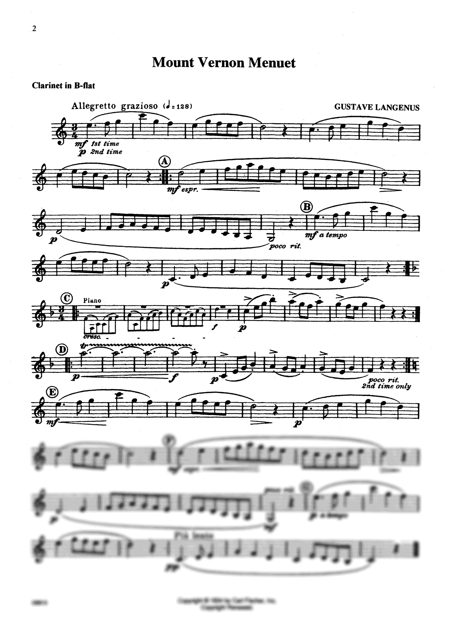 Festival Performance Solos, Vol. 1 Page 2