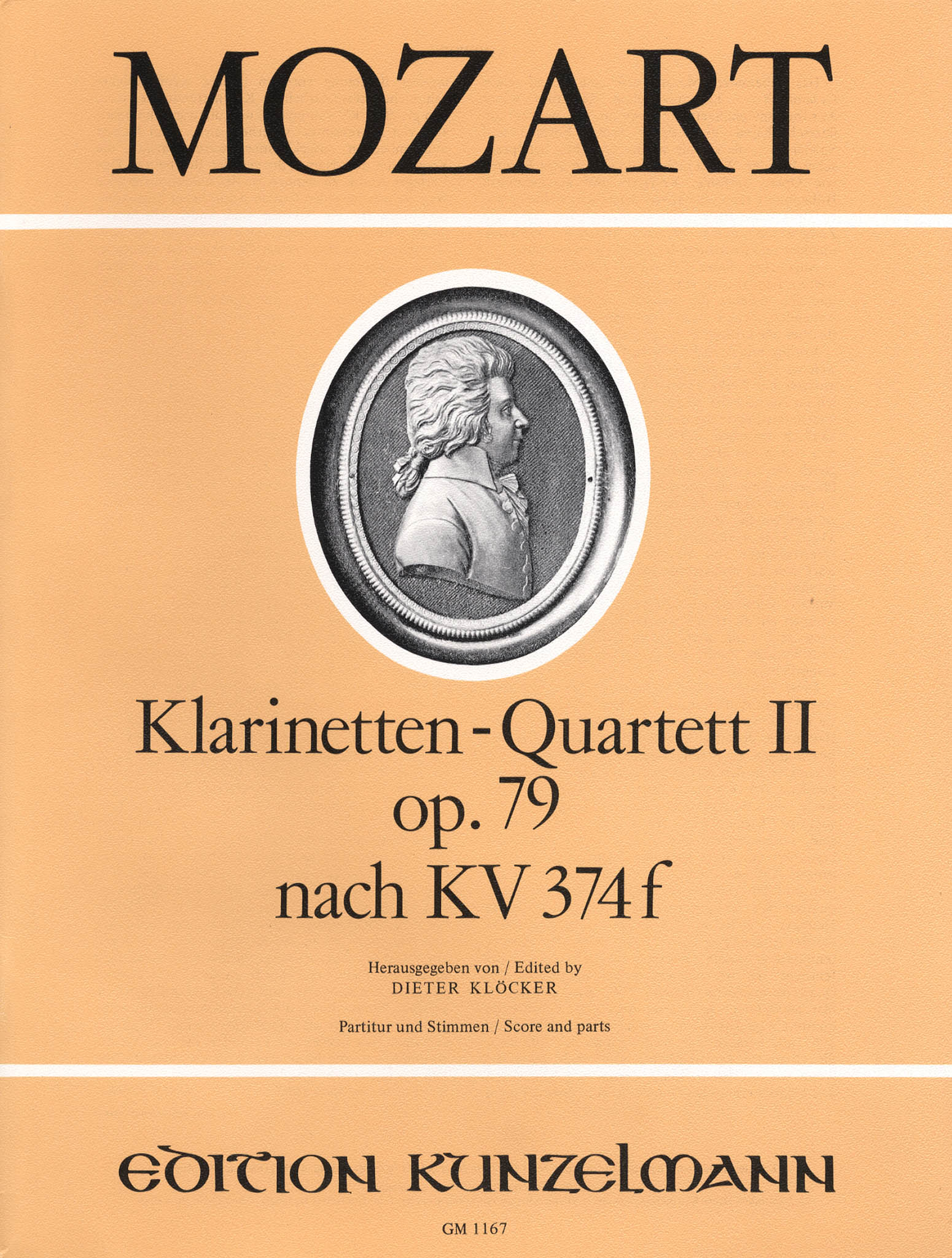 Violin Sonata in E-Flat Major, K. 380/374f Cover