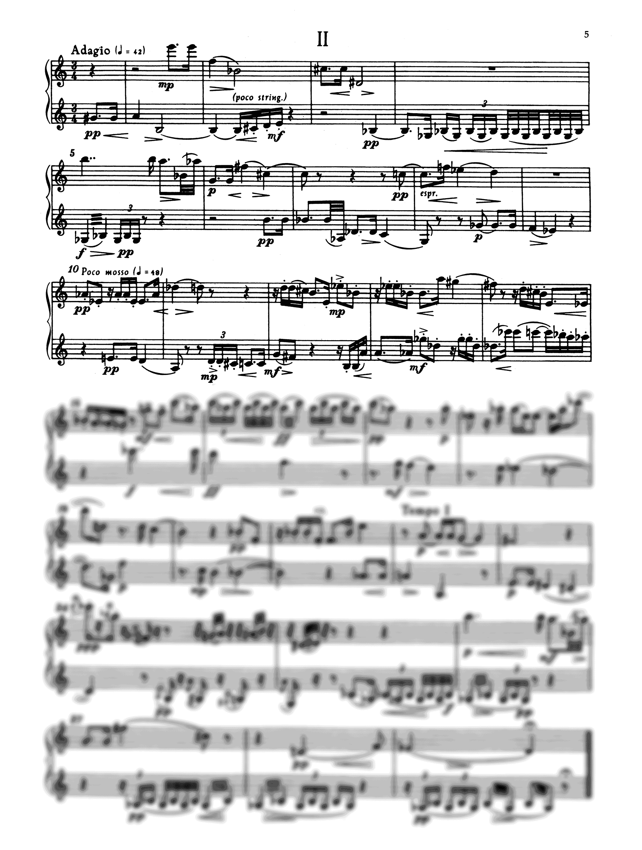 Krenek Sonatina, Op. 92/2b - Movement 2
