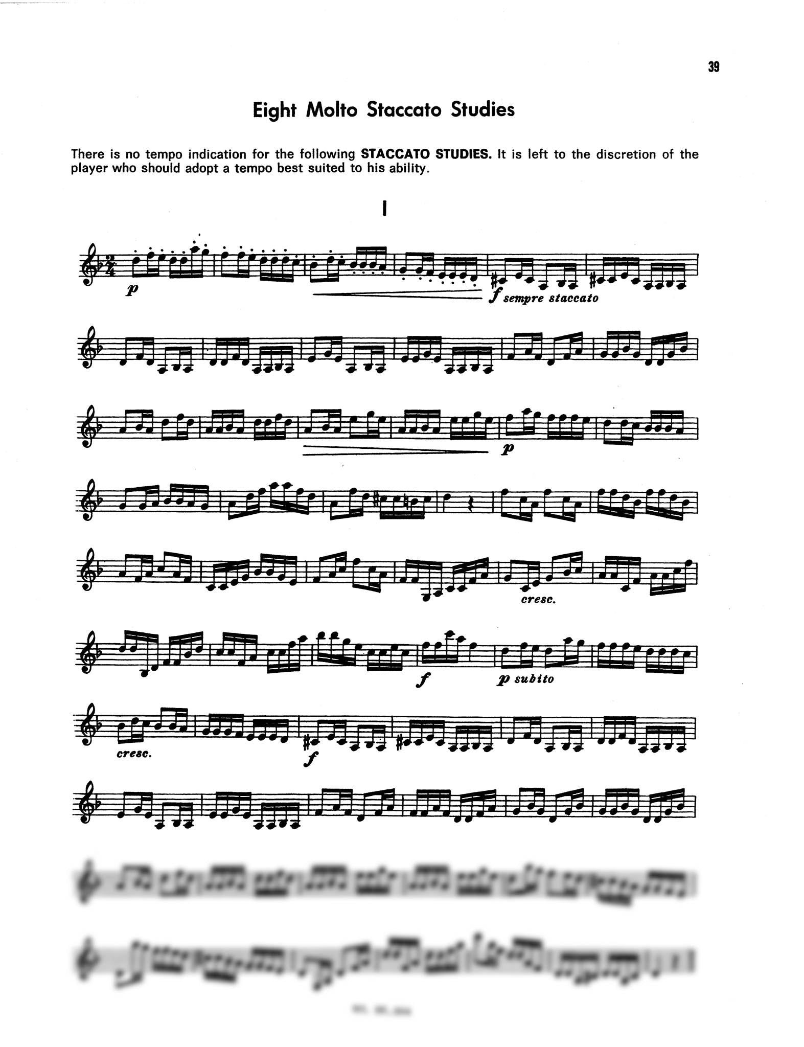 The Kell Method for Clarinet, Book 3 Page 39