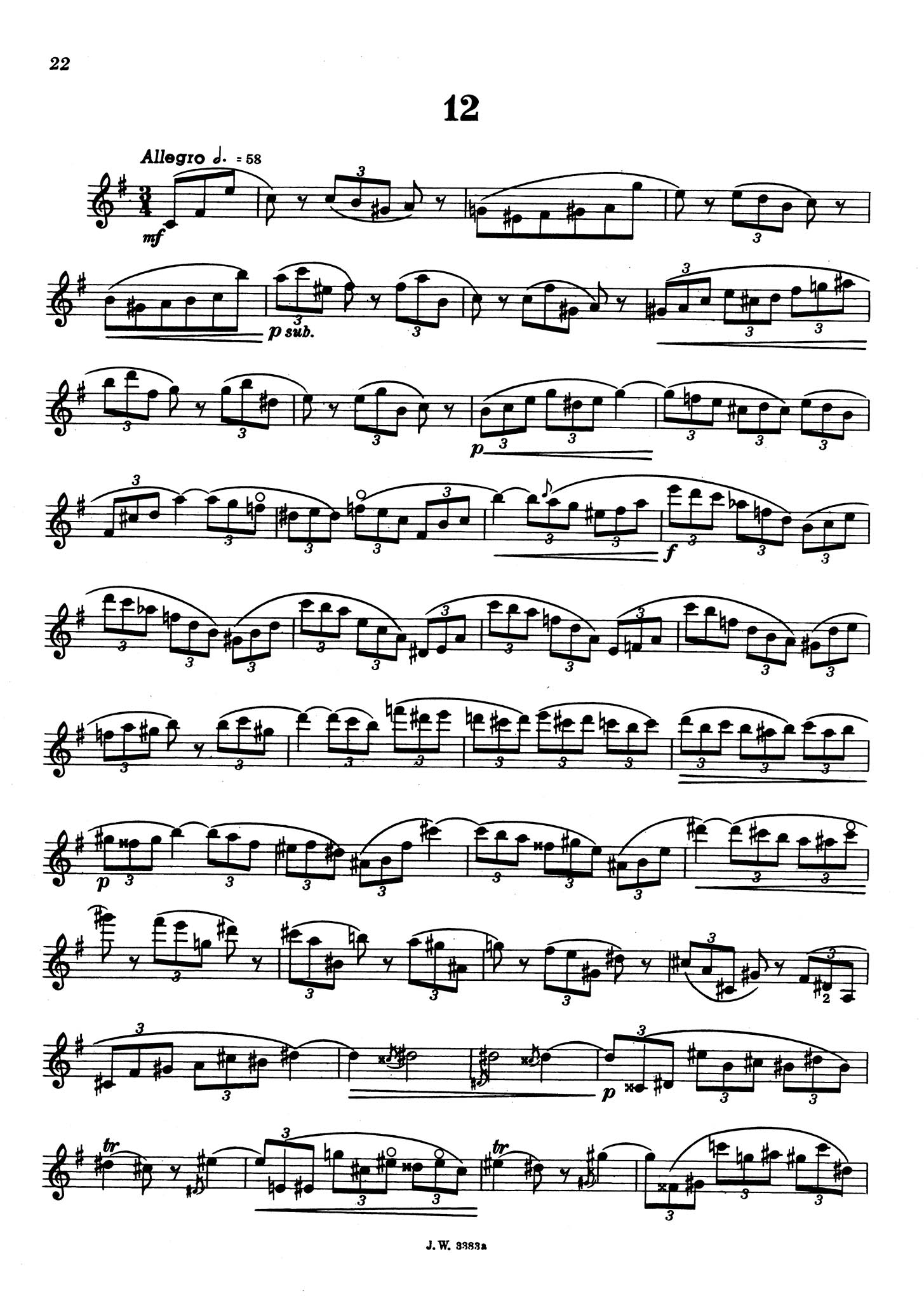 The Accomplished Clarinettist, Book 1 Page 22