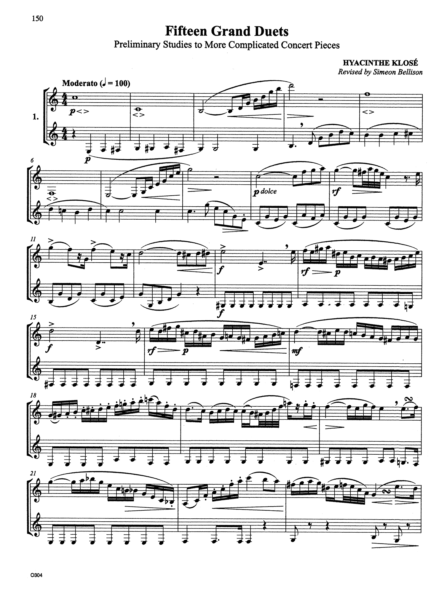 Complete Clarinet Method Page 150