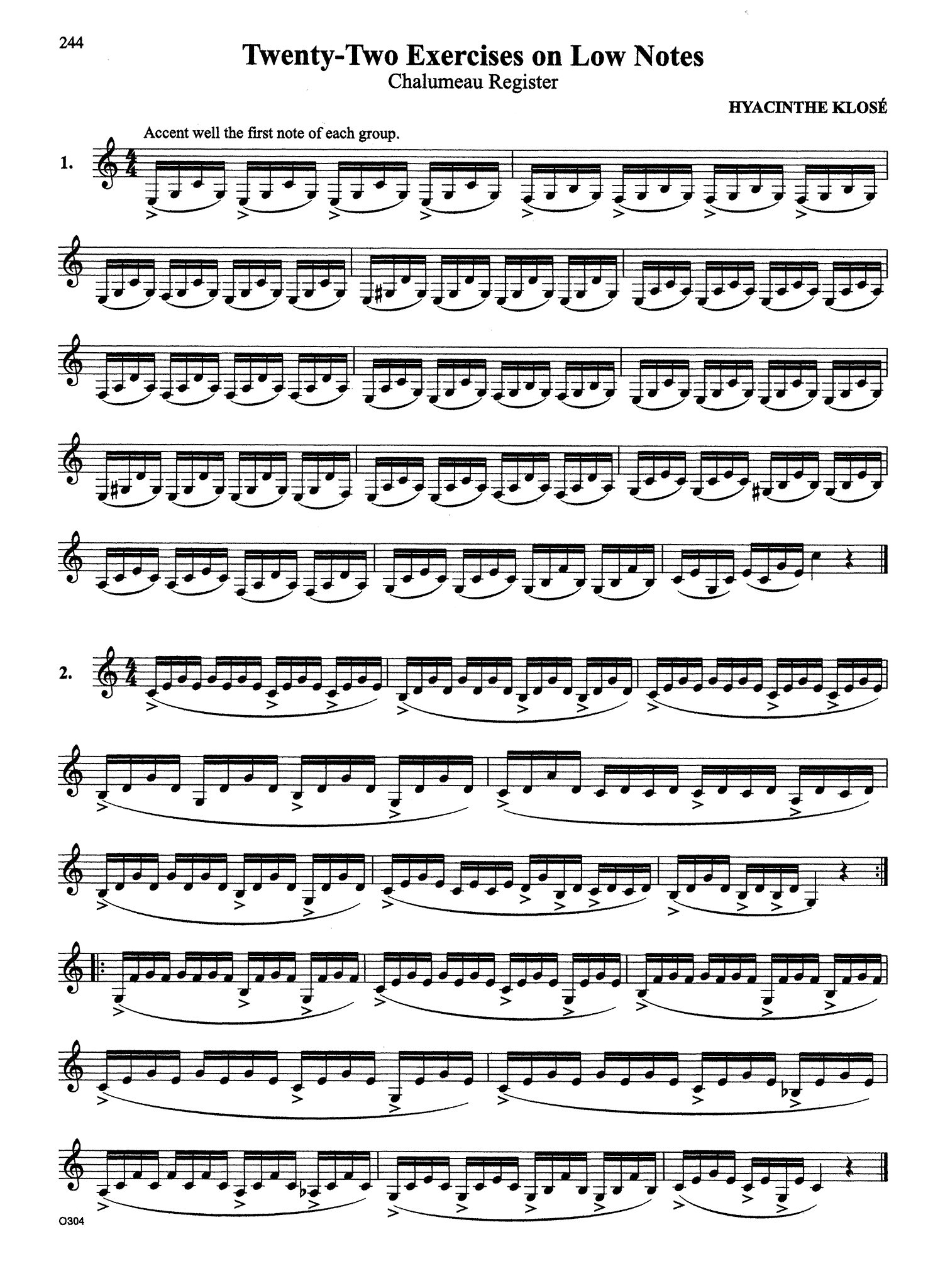 Complete Clarinet Method Page 244