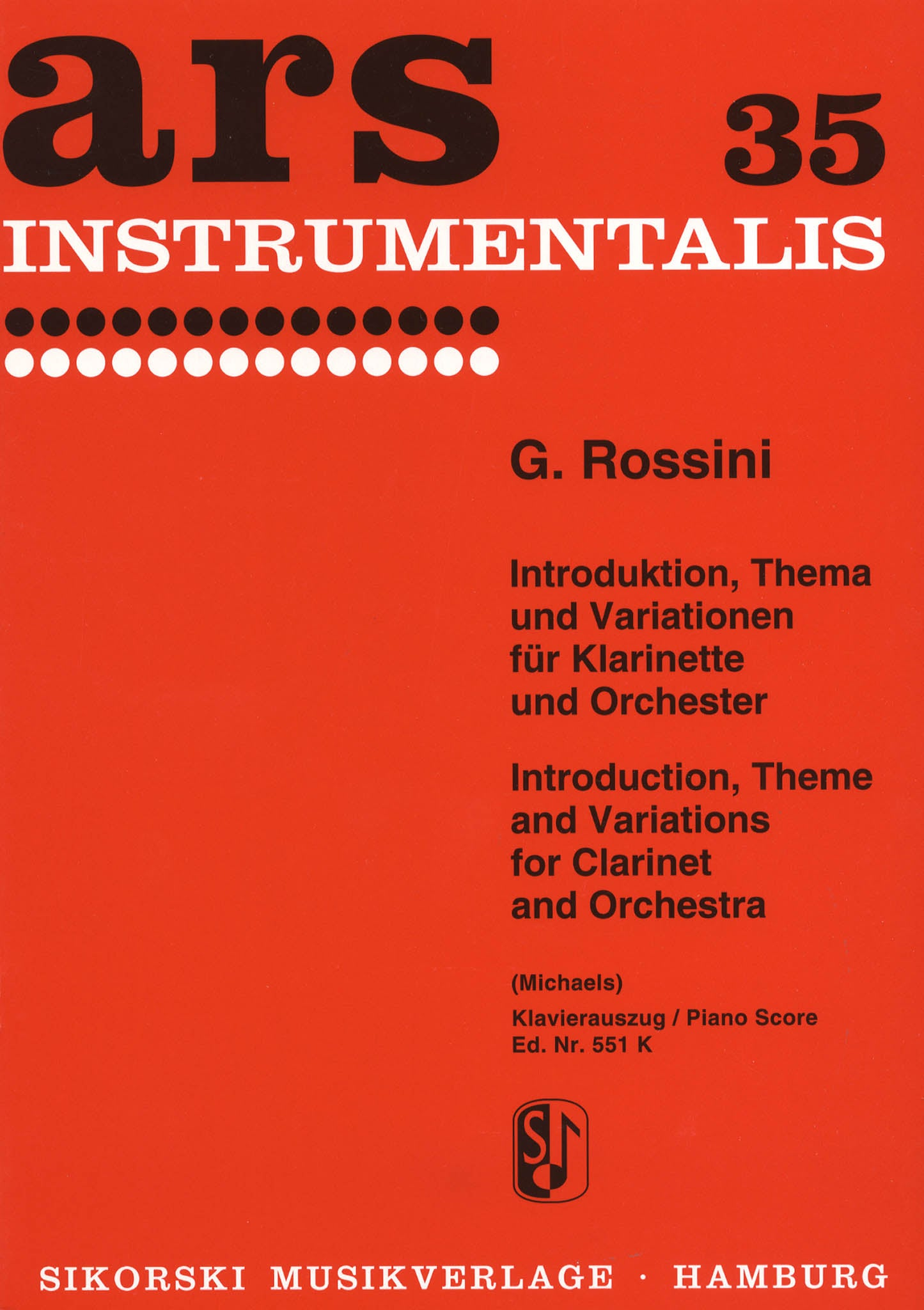 Introduction, Theme and Variations Cover