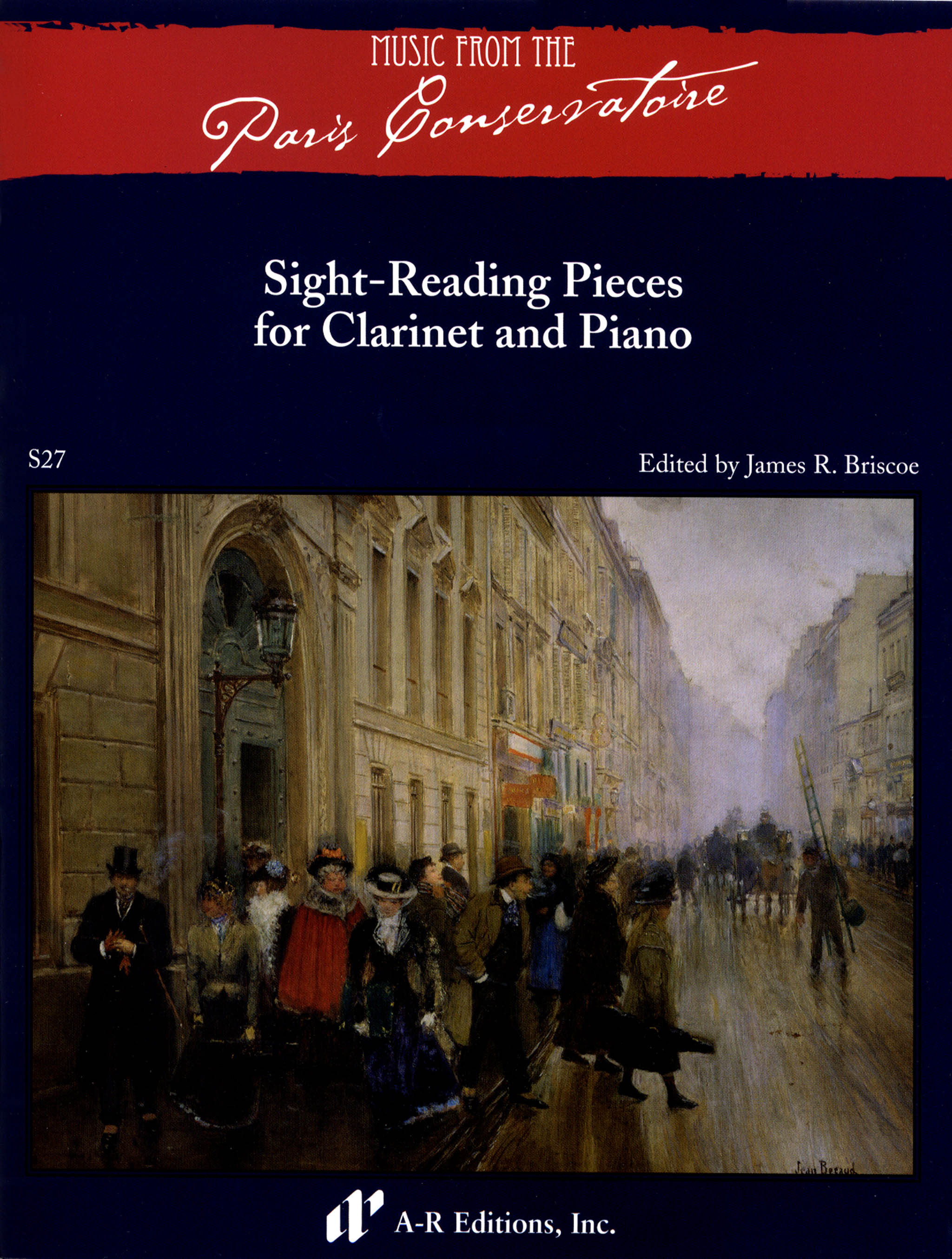 Sight-Reading Pieces For Clarinet & Piano Cover
