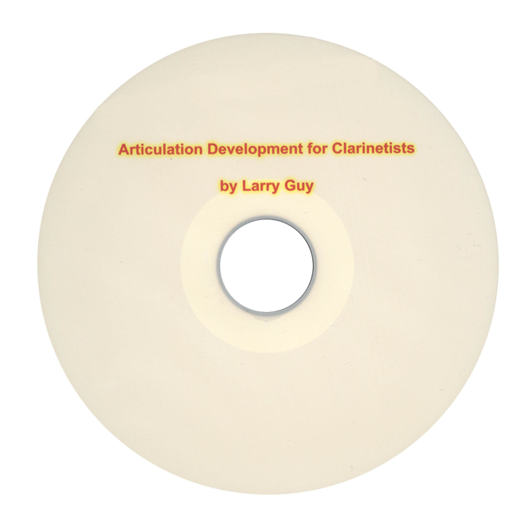 Articulation Development for Clarinetists CD