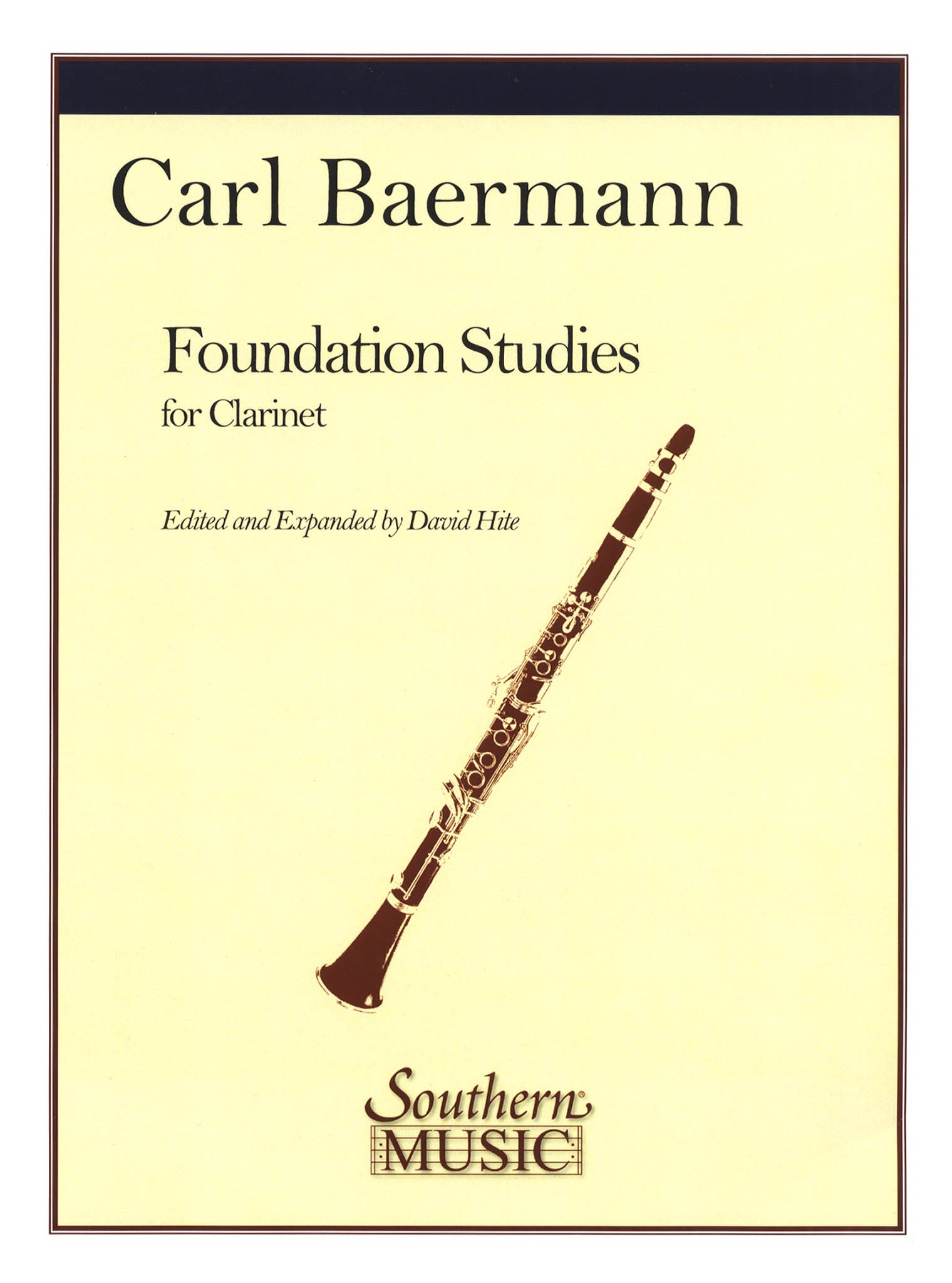 Daily Exercises from the Clarinet Method, Op. 63 Cover