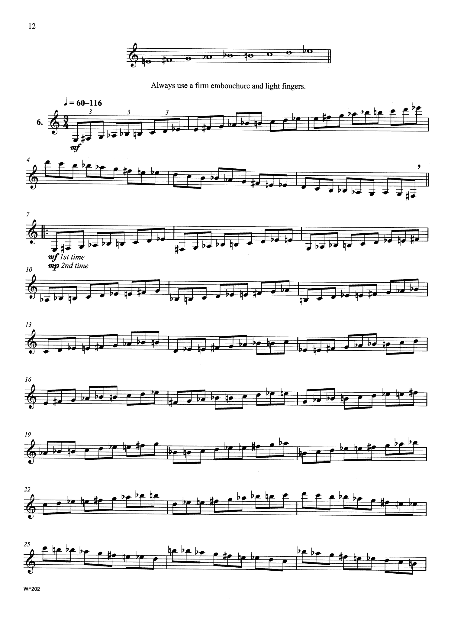Intermediate Contemporary Scale Studies Page 12