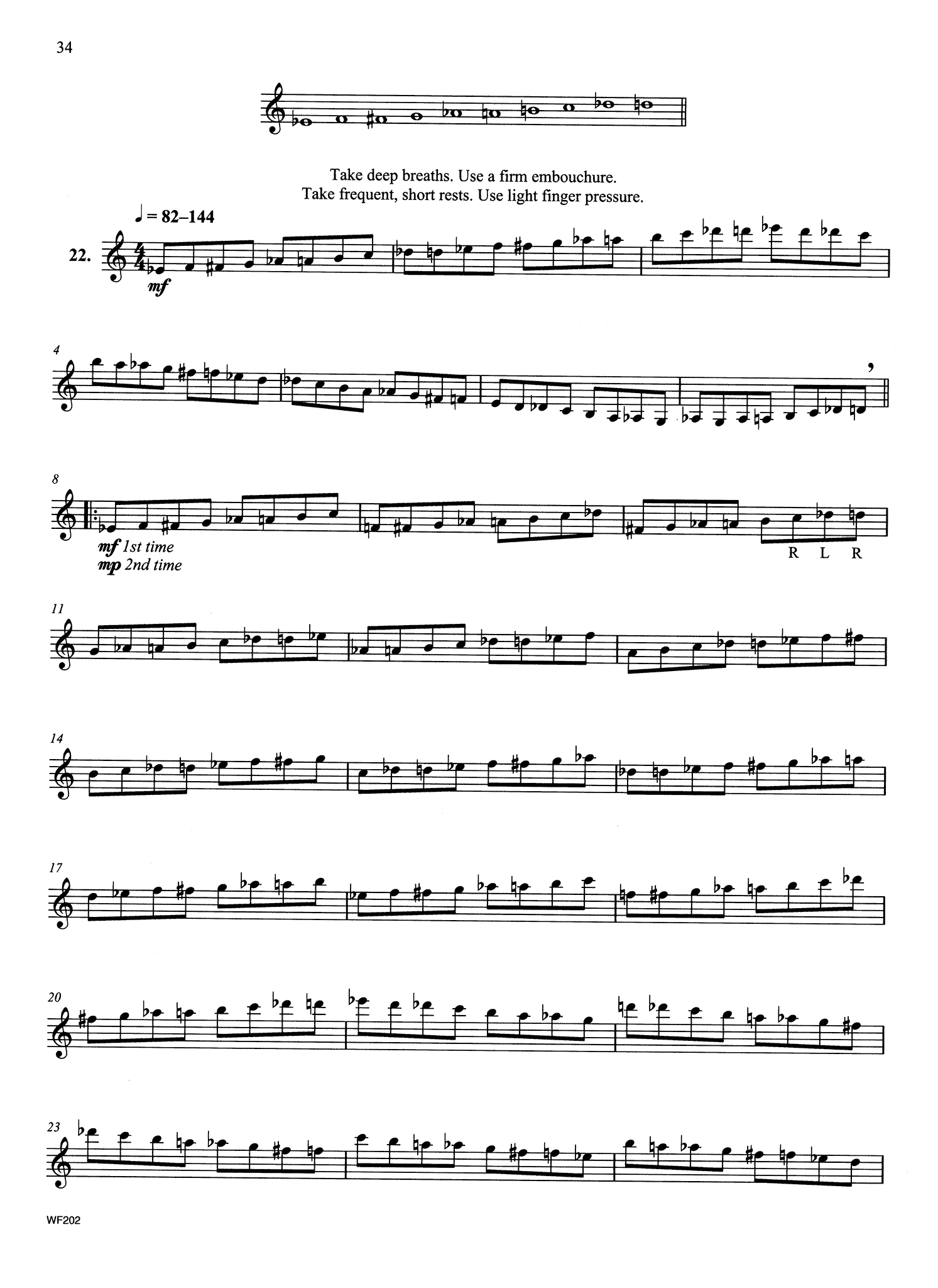 Intermediate Contemporary Scale Studies Page 34