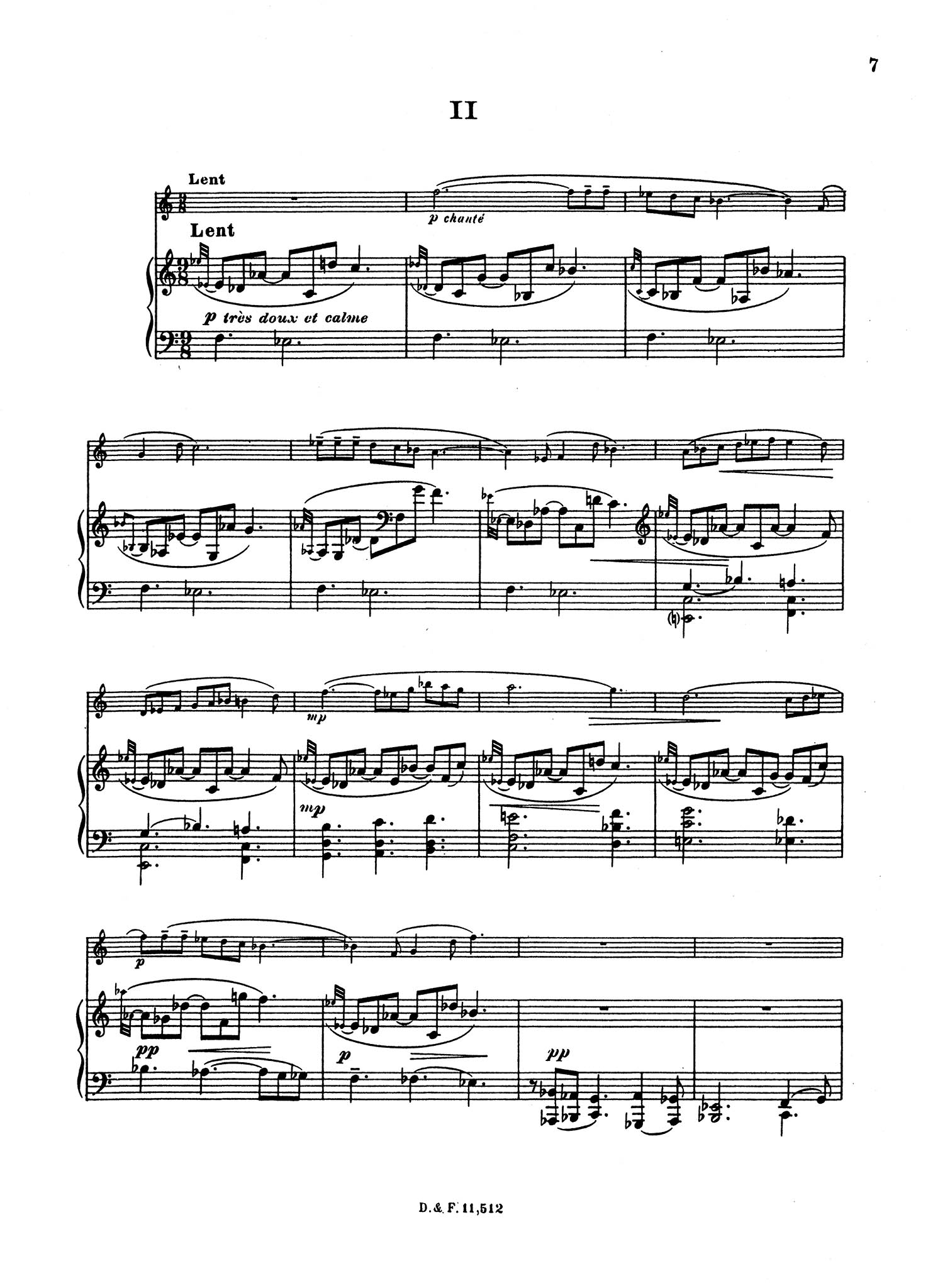 Sonatina, Op. 100 - Movement 2