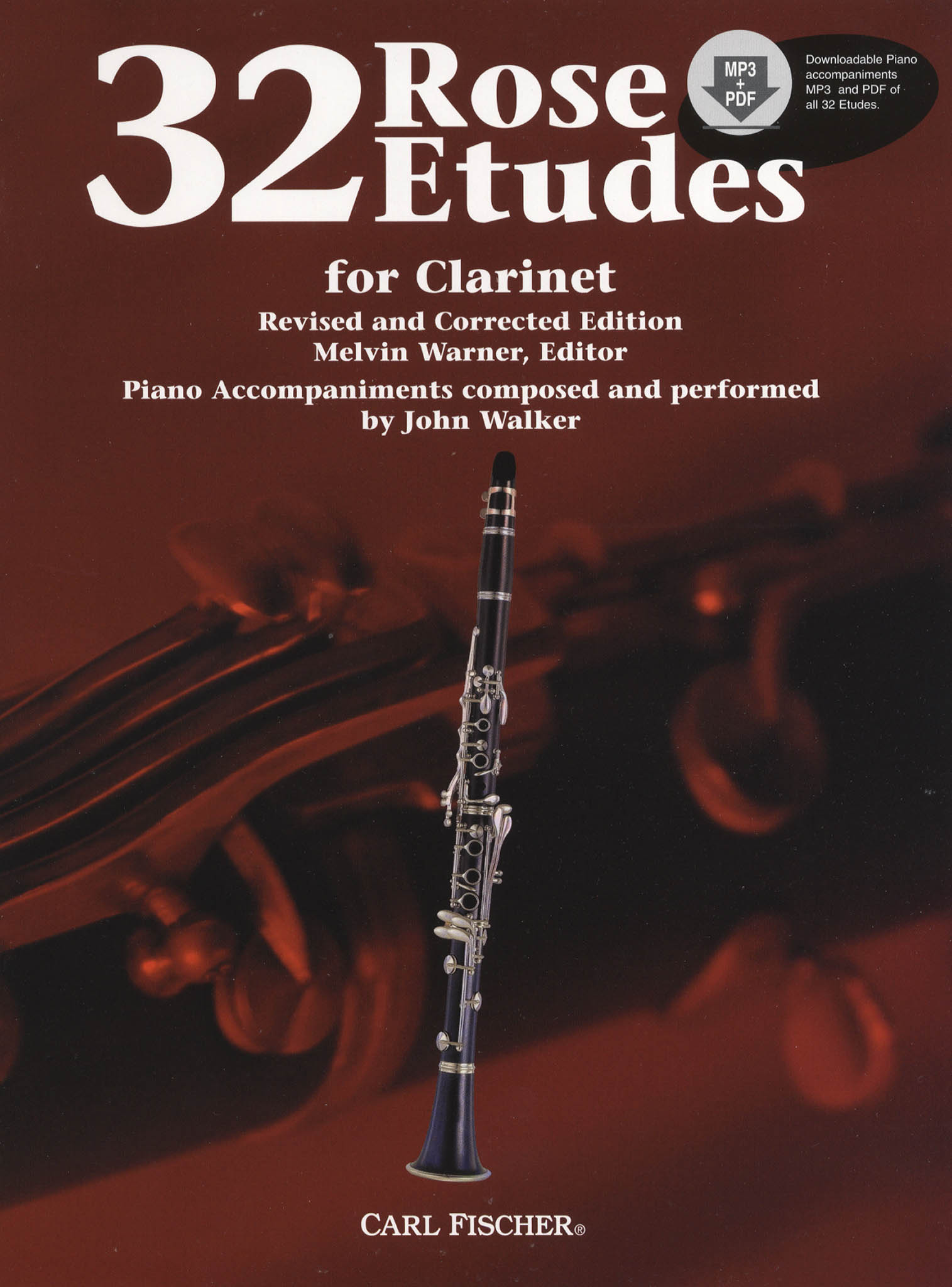 32 Etudes for Clarinet Cover
