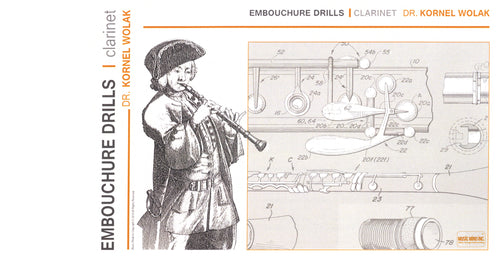 Embouchure Drills for Clarinet Cover