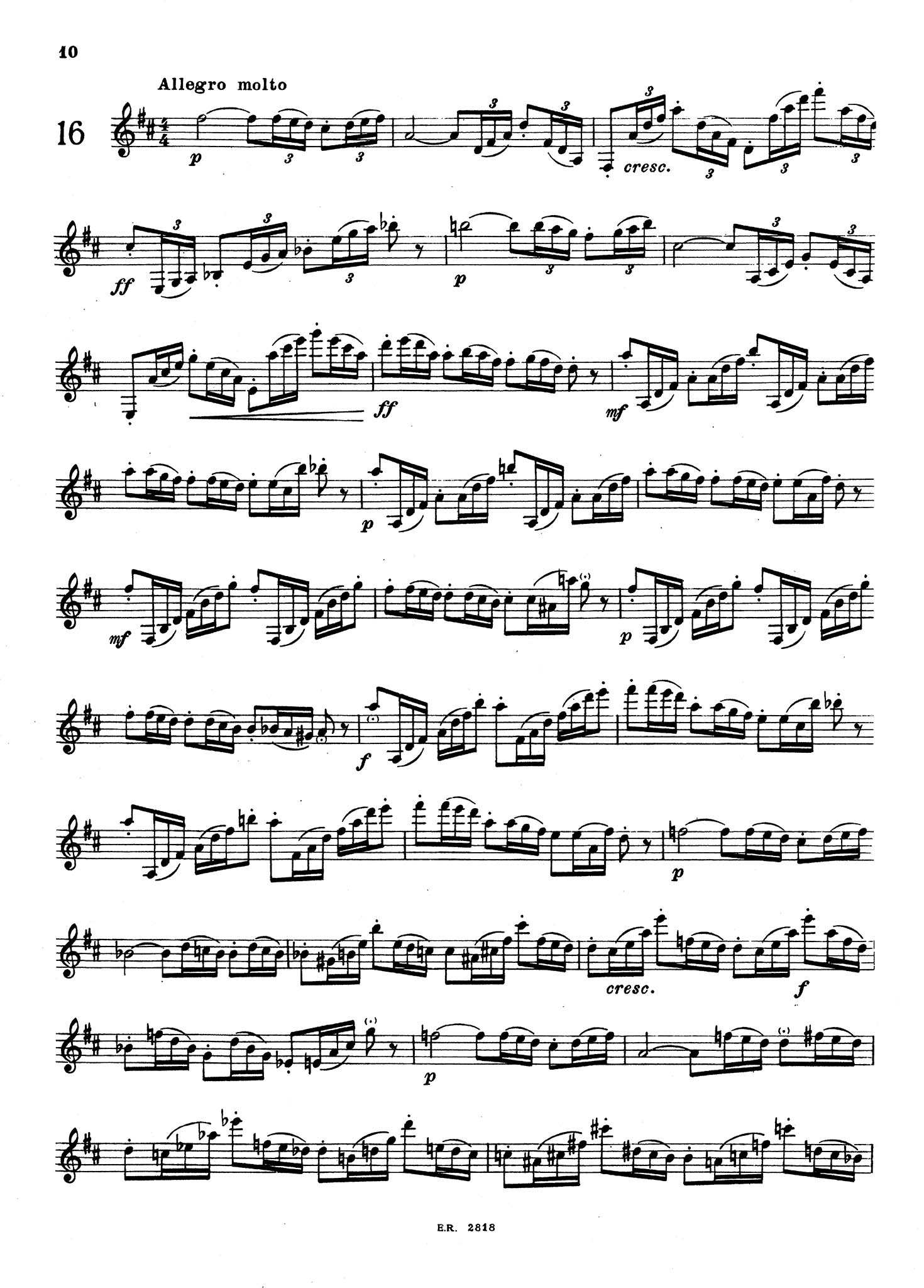24 Virtuosity Studies, Op. 51, Book 2 Page 10