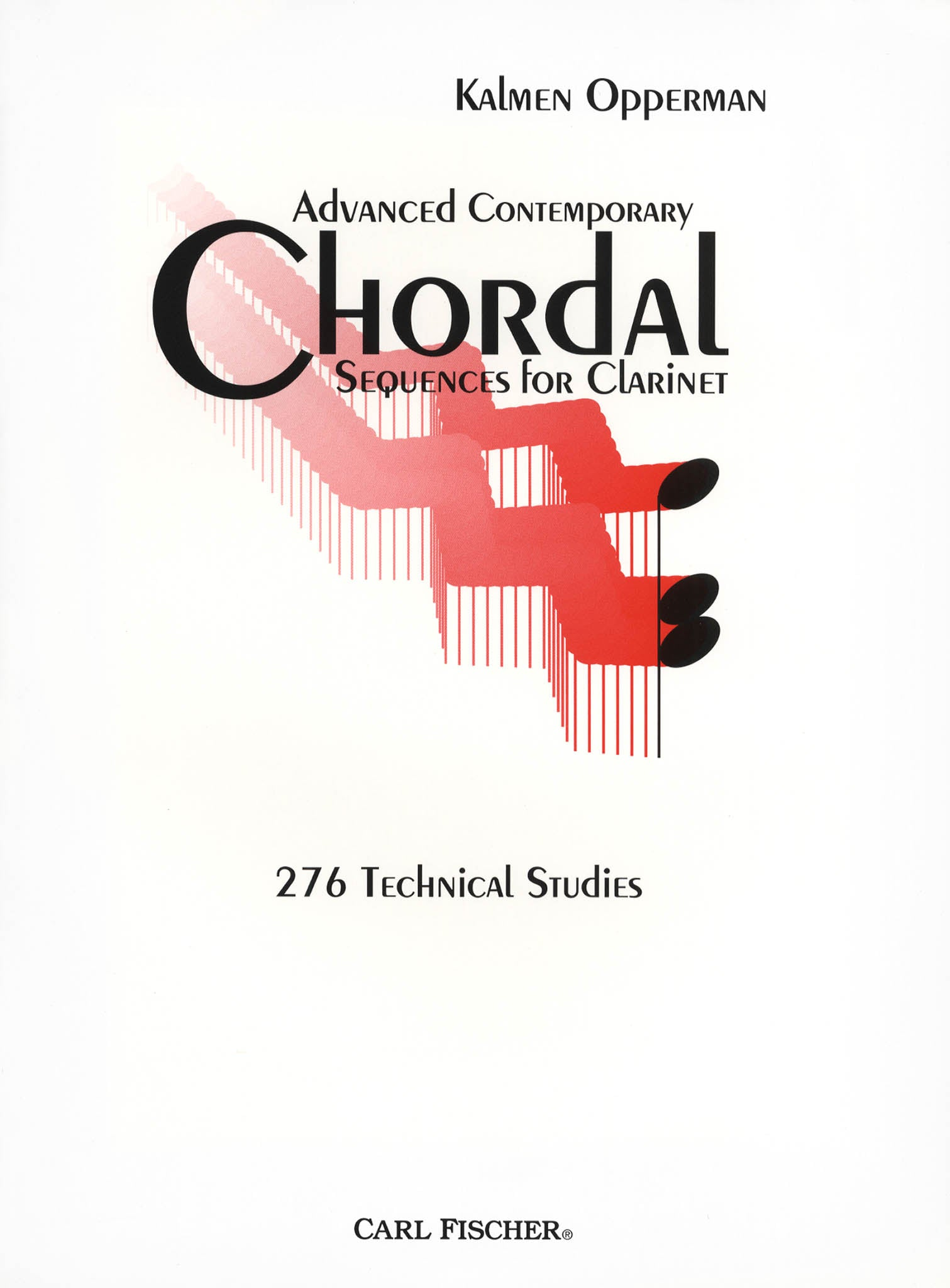 Advanced Contemporary Chordal Sequences for Clarinet Cover