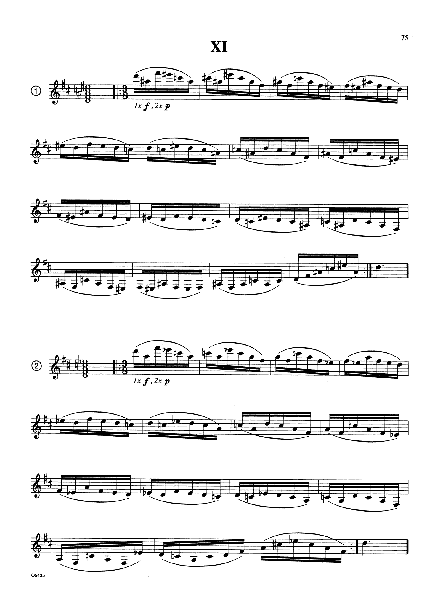 Advanced Contemporary Chordal Sequences for Clarinet Page 75