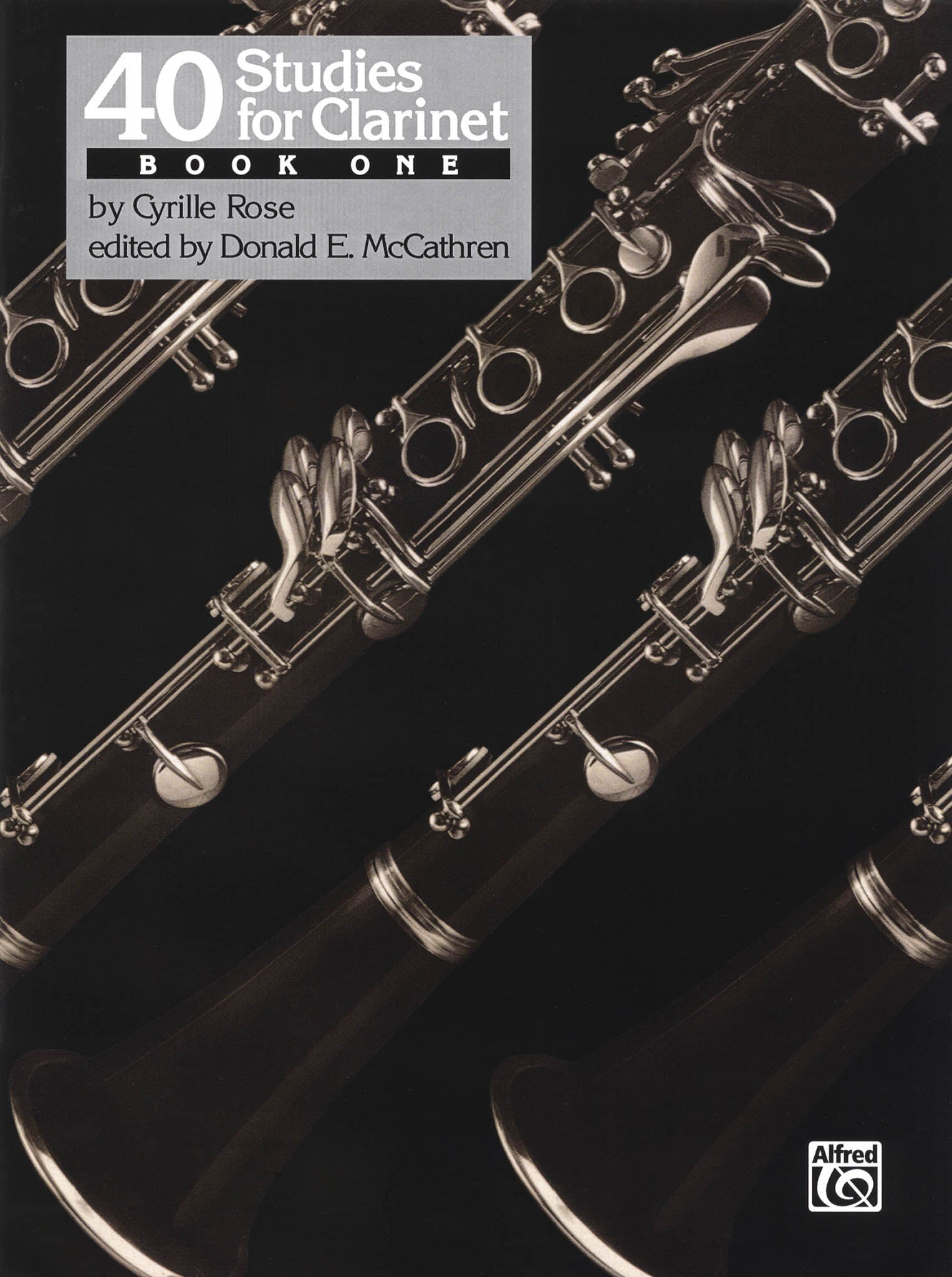 Rose 40 Études for Clarinet, Book 1 Cover