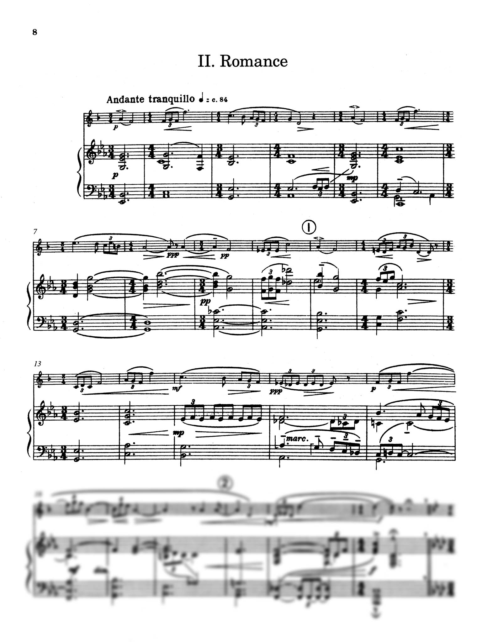 Five Bagatelles, Op. 23 - Movement 2