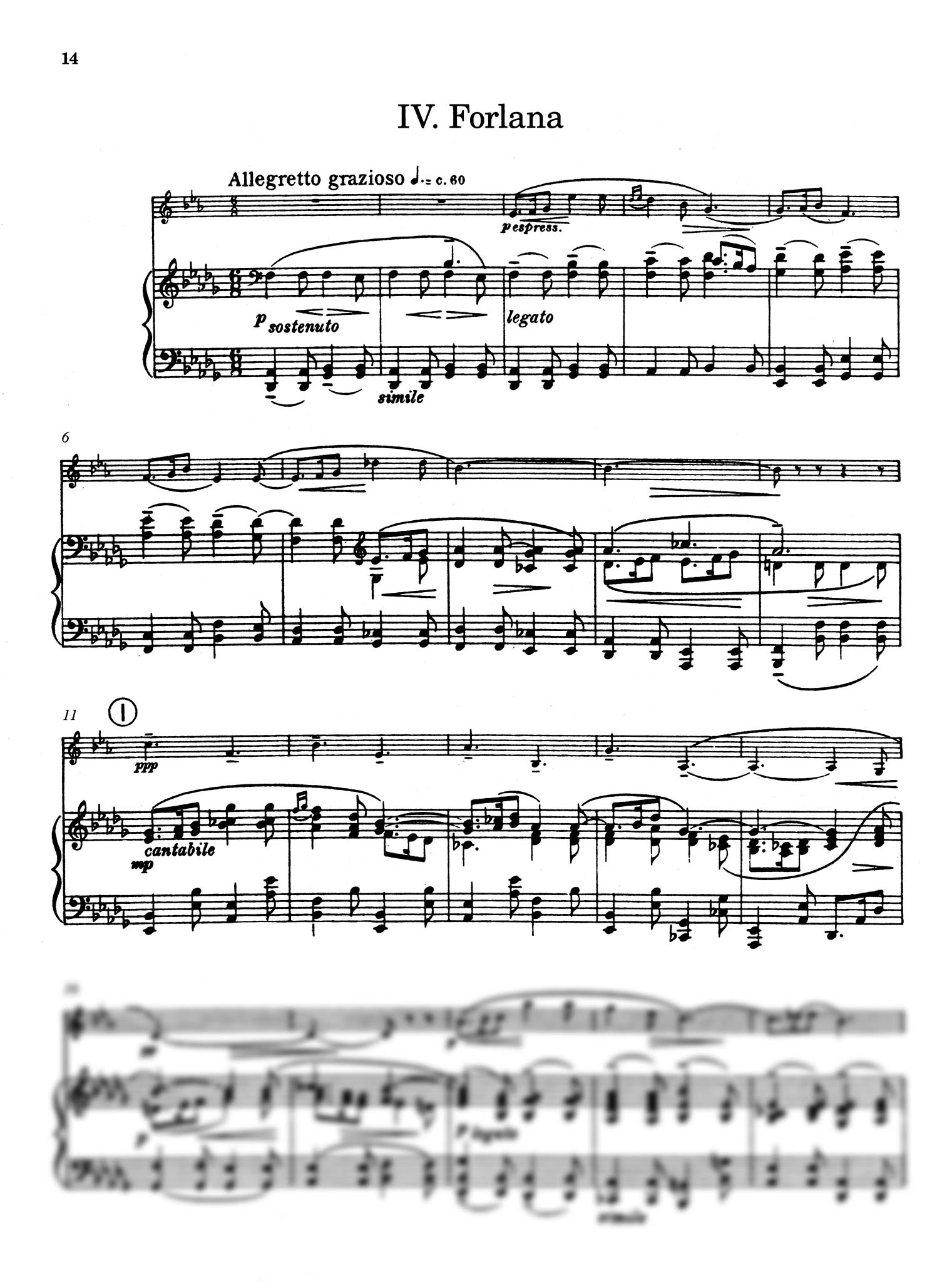 Five Bagatelles, Op. 23 - Movement 4