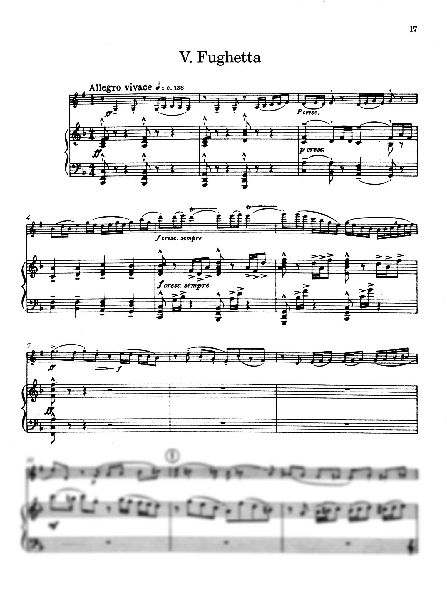 Five Bagatelles, Op. 23 - Movement 5