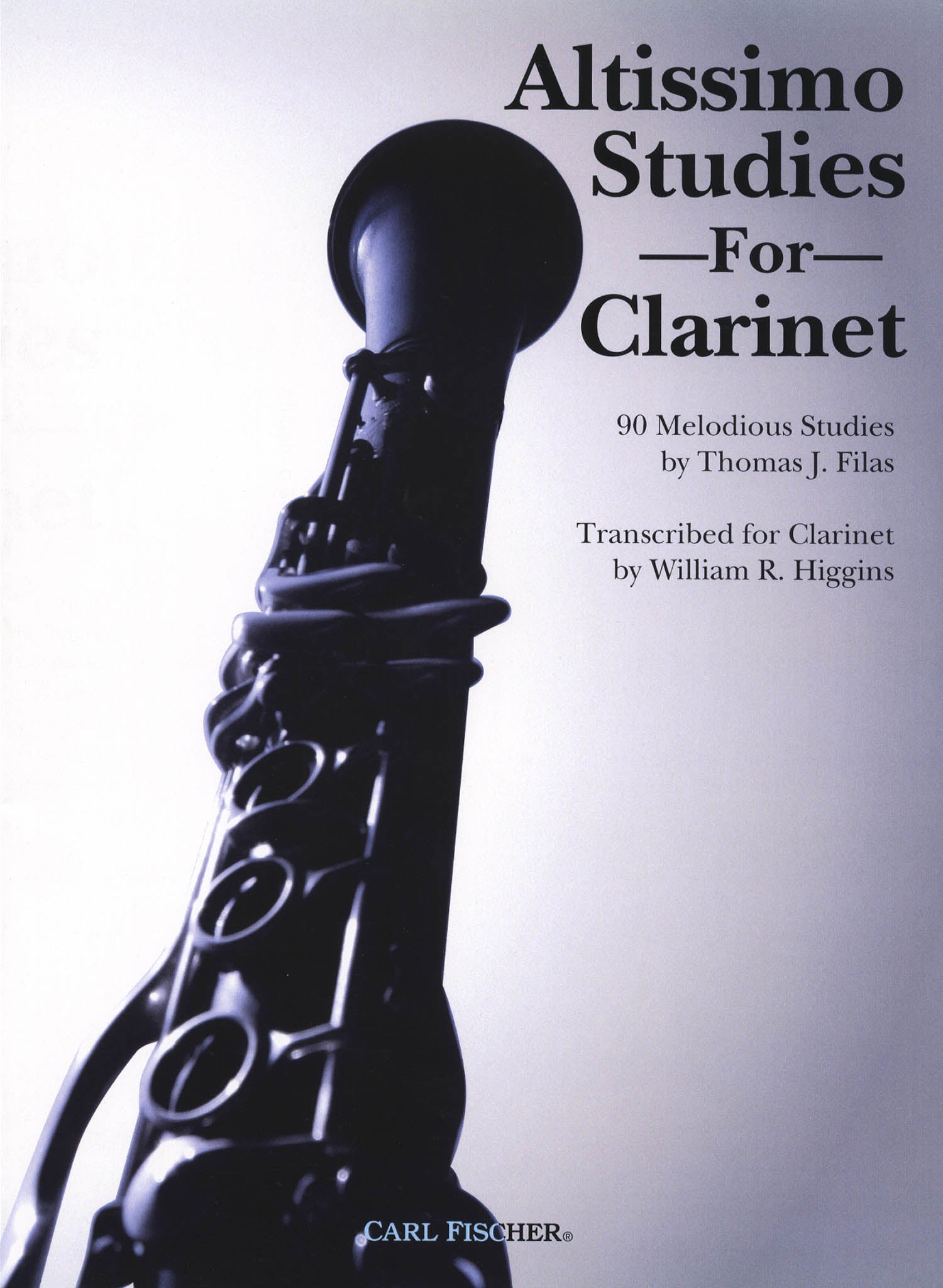 Altissimo Studies for Clarinet Cover