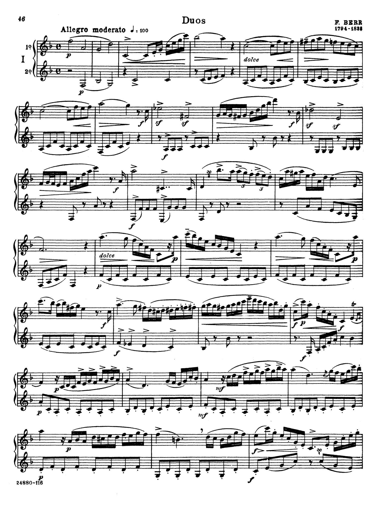 Complete Method for the Clarinet, Book 3 Page 46