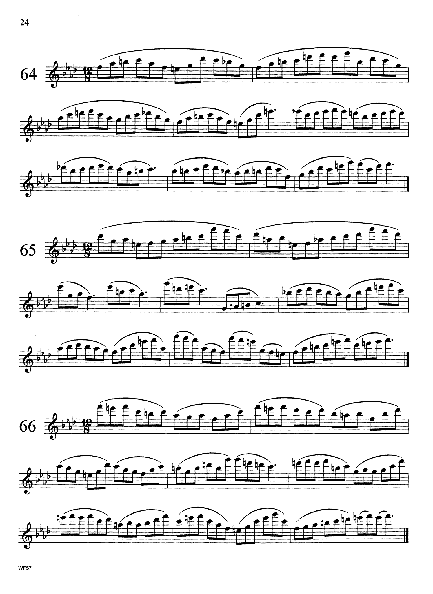 Altissimo Studies for Clarinet Page 24