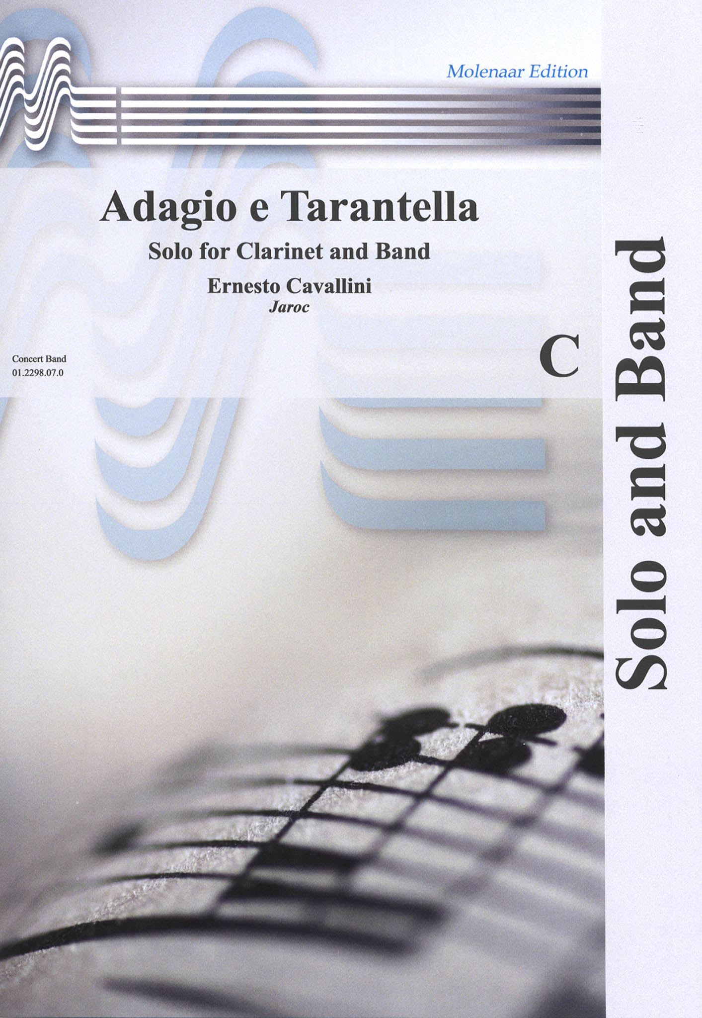 Adagio e Tarantella wind ensemble Cover
