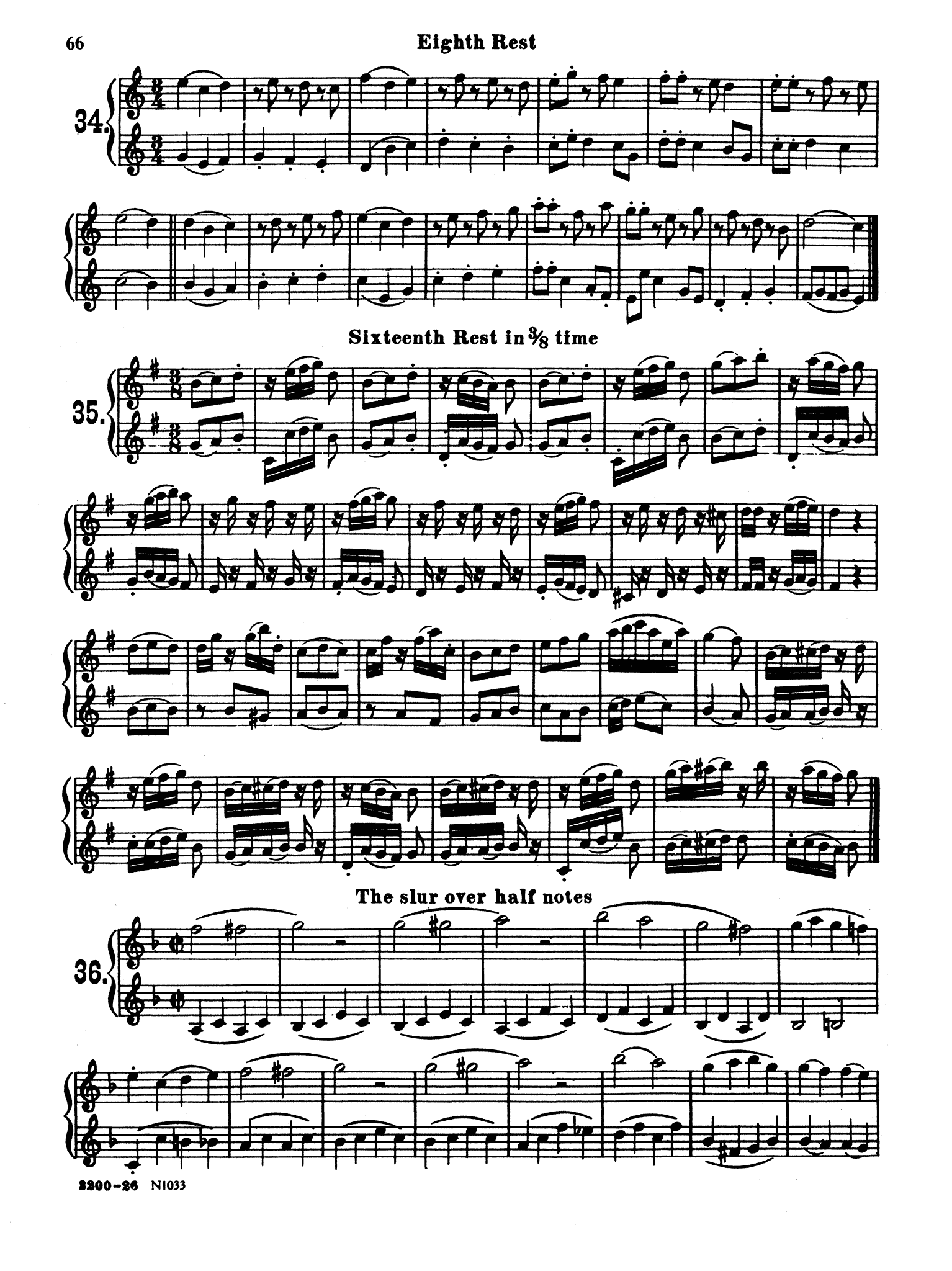 Method for Clarinet Page 66