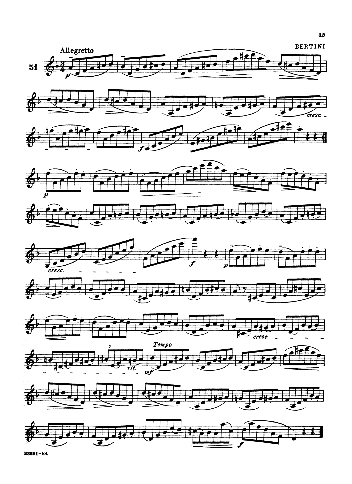 Complete Method for the Clarinet, Book 2 Page 45