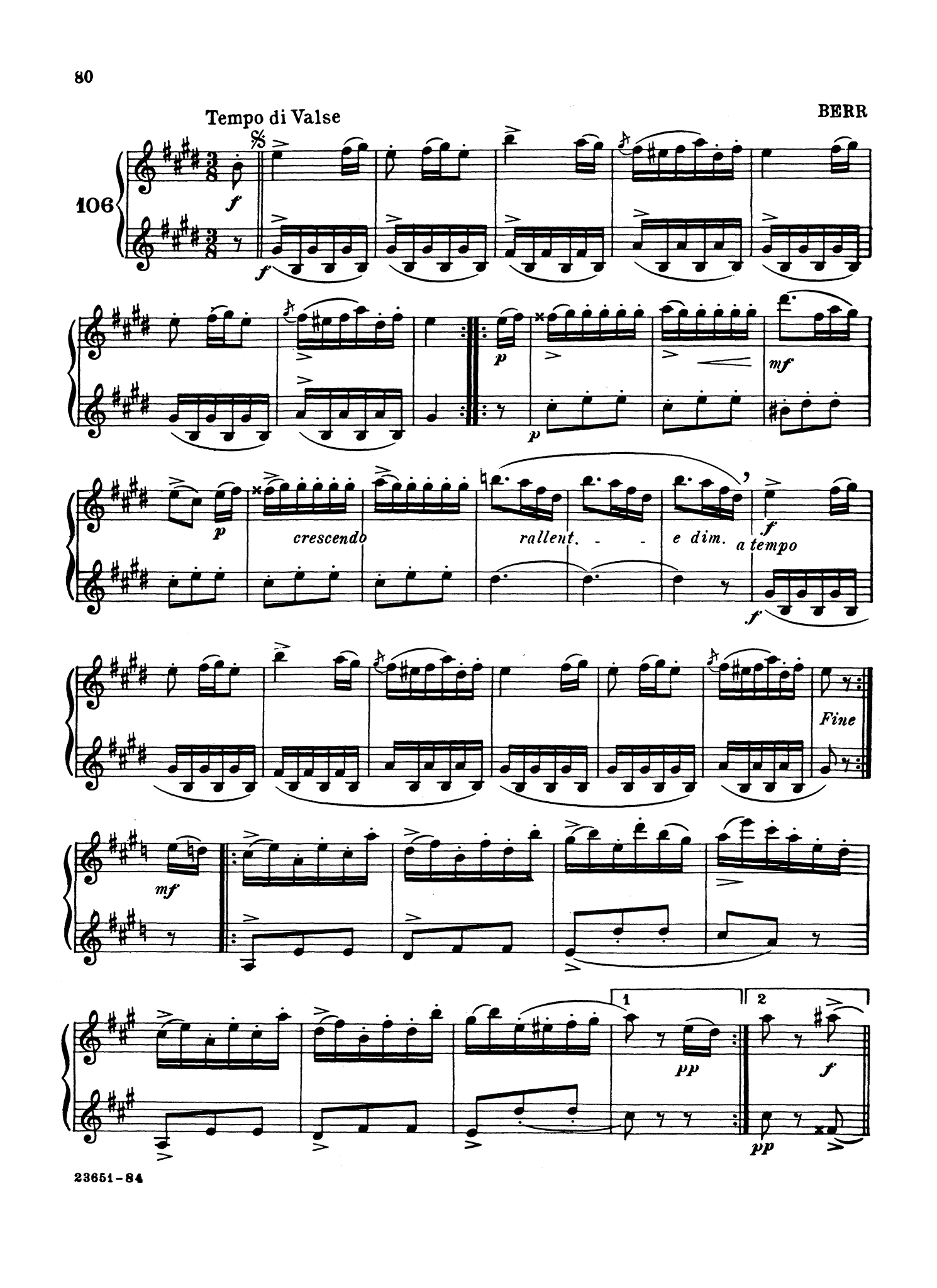 Complete Method for the Clarinet, Book 2 Page 80