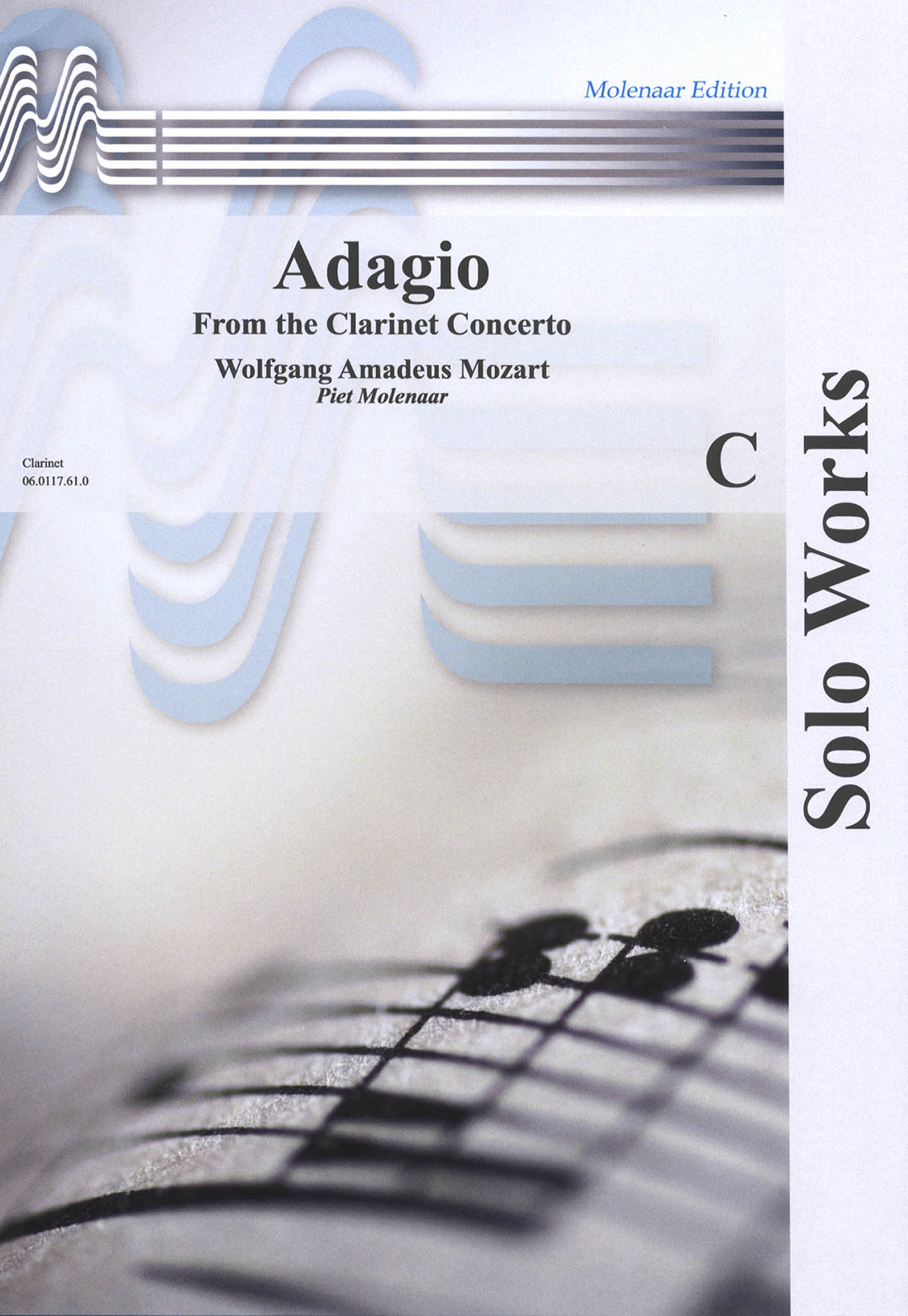Adagio, from Clarinet Concerto Cover