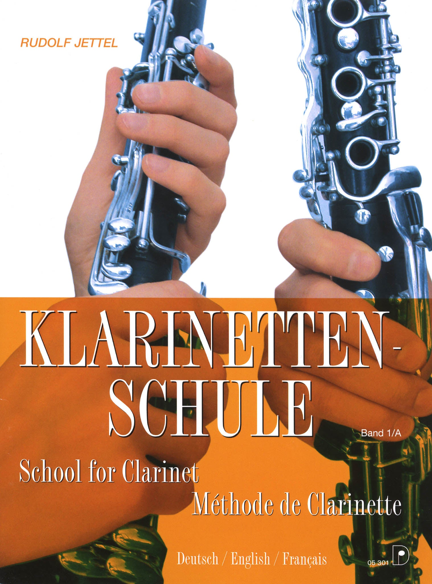 School for Clarinet, Book 1 Cover