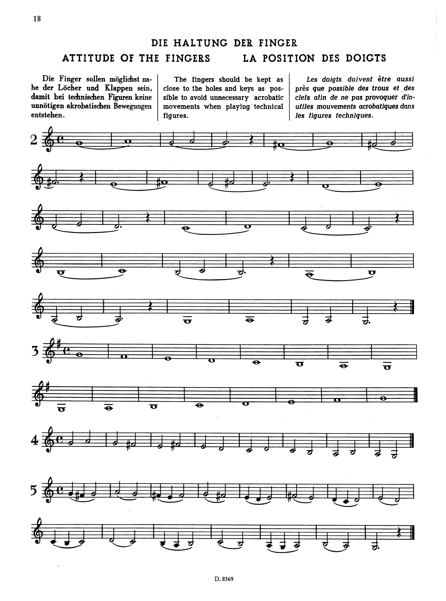 School for Clarinet, Book 1 Page 18