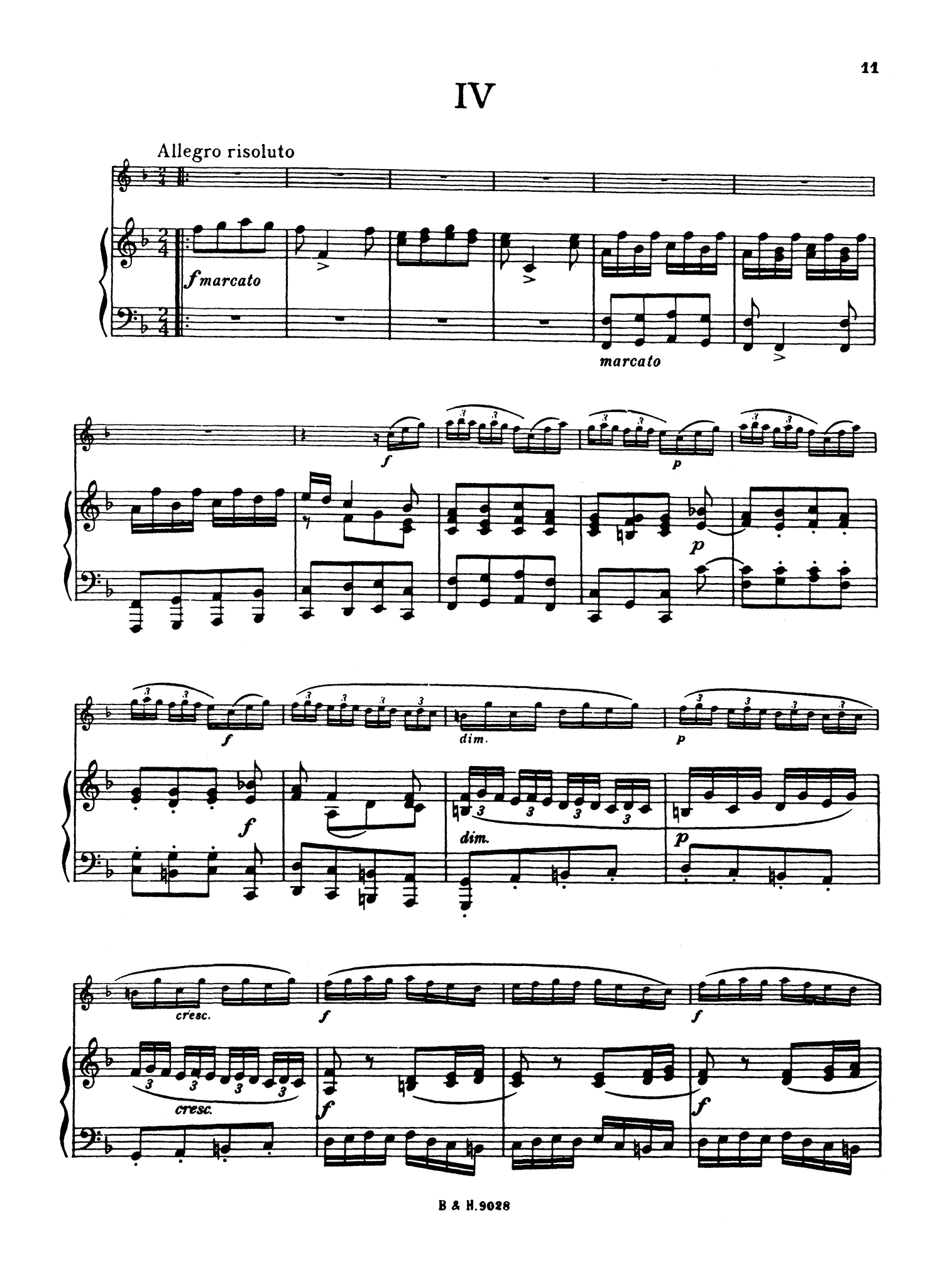 Tartini Jacob Clarinet Concertino - Movement 4