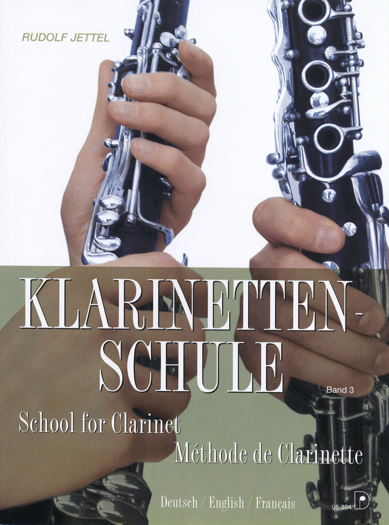 School for Clarinet, Book 3 Cover