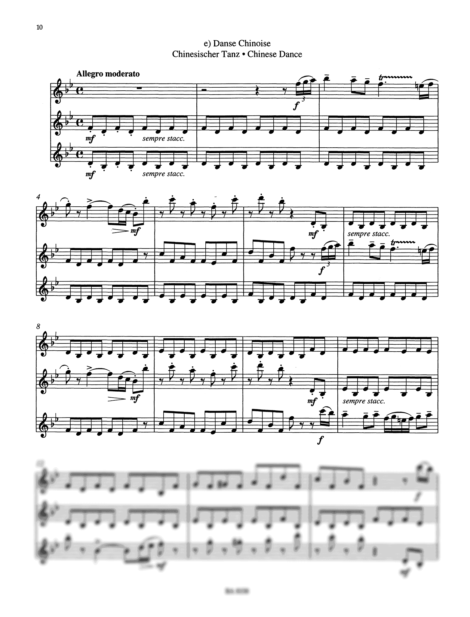 Nutcracker Suite for 3 Clarinets Page 10