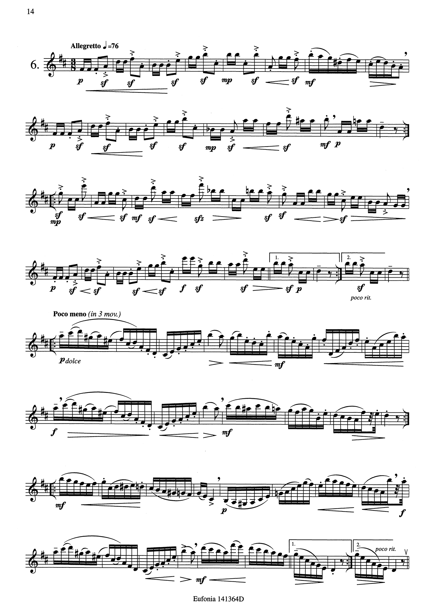 12 Exercises, Op. 30 Page 14