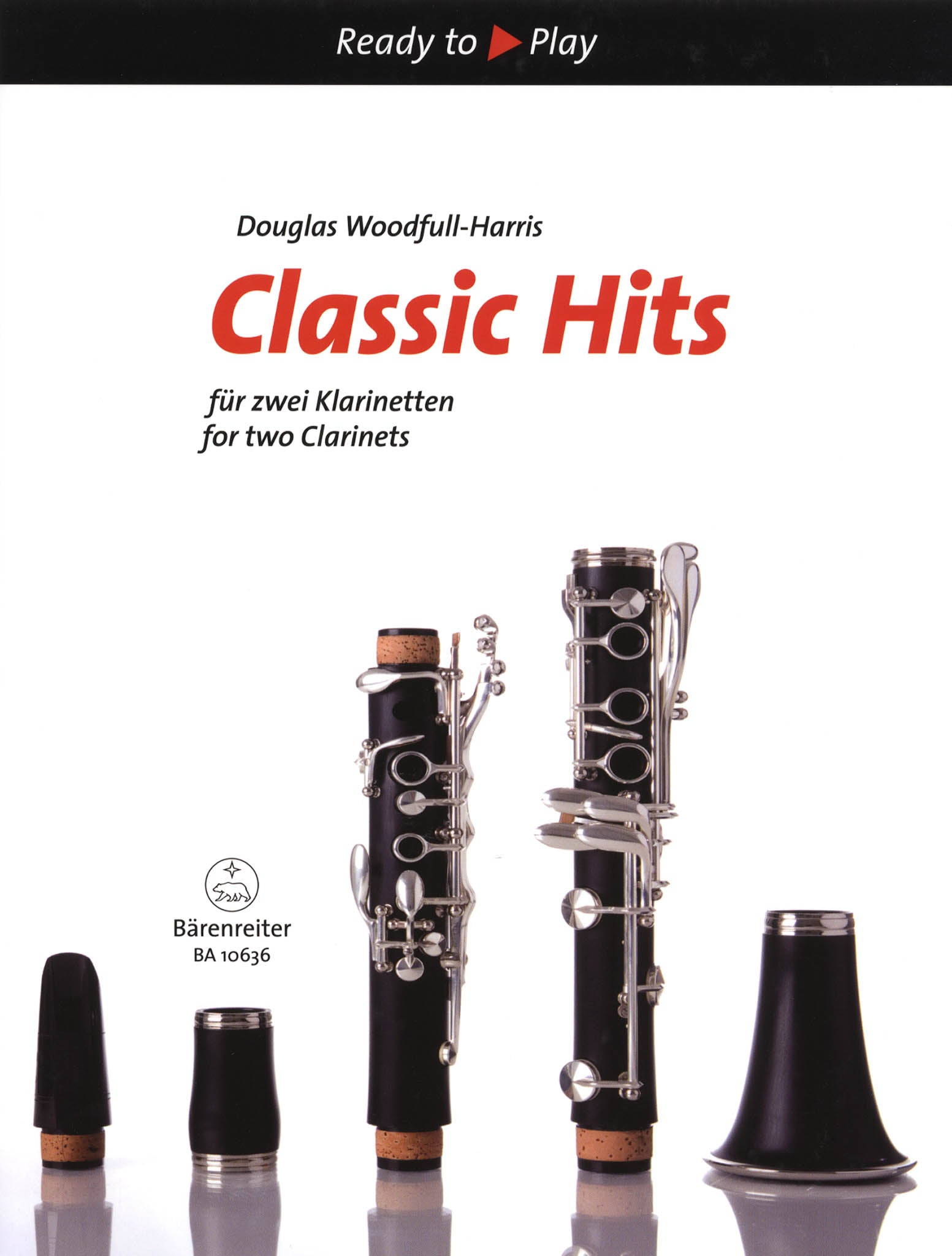 Classic Hits for 2 Clarinets Cover