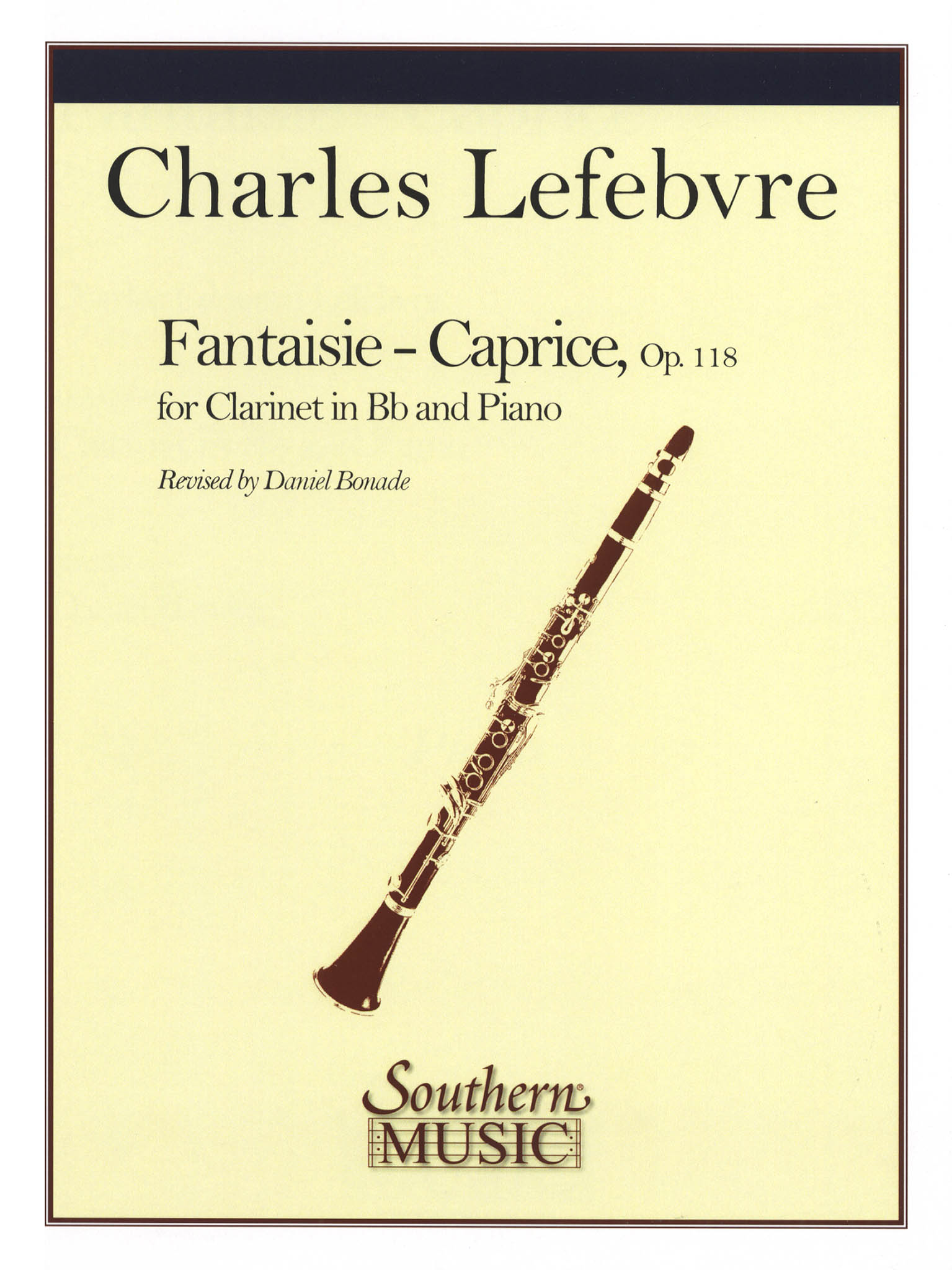 Fantaisie-caprice, Op. 118 Cover